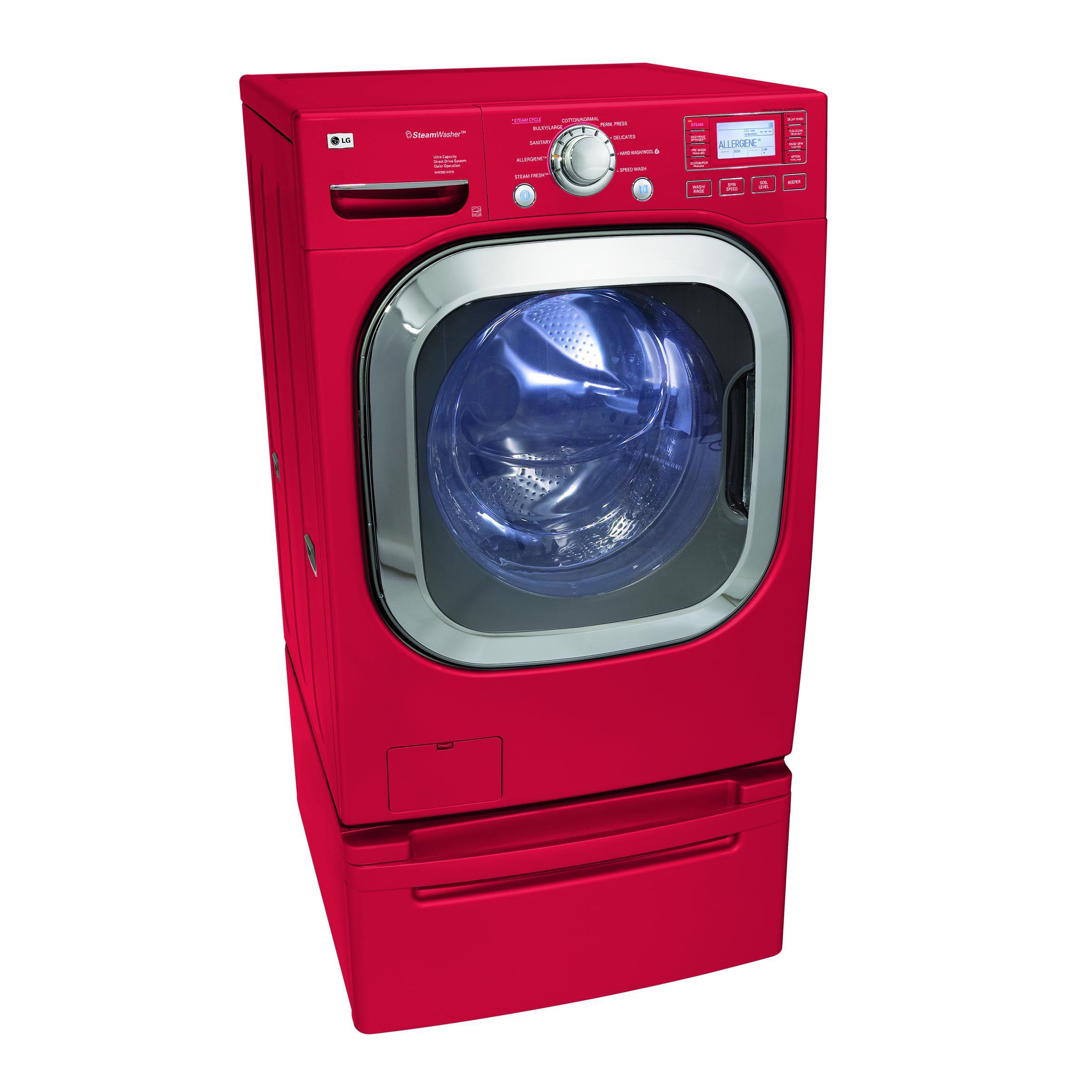 LG 4.5 cu. ft. SteamWasher™ w/ TrueBalance™ Anti-Vibration Technology Front-Load Washing Machine (WM3001H)
