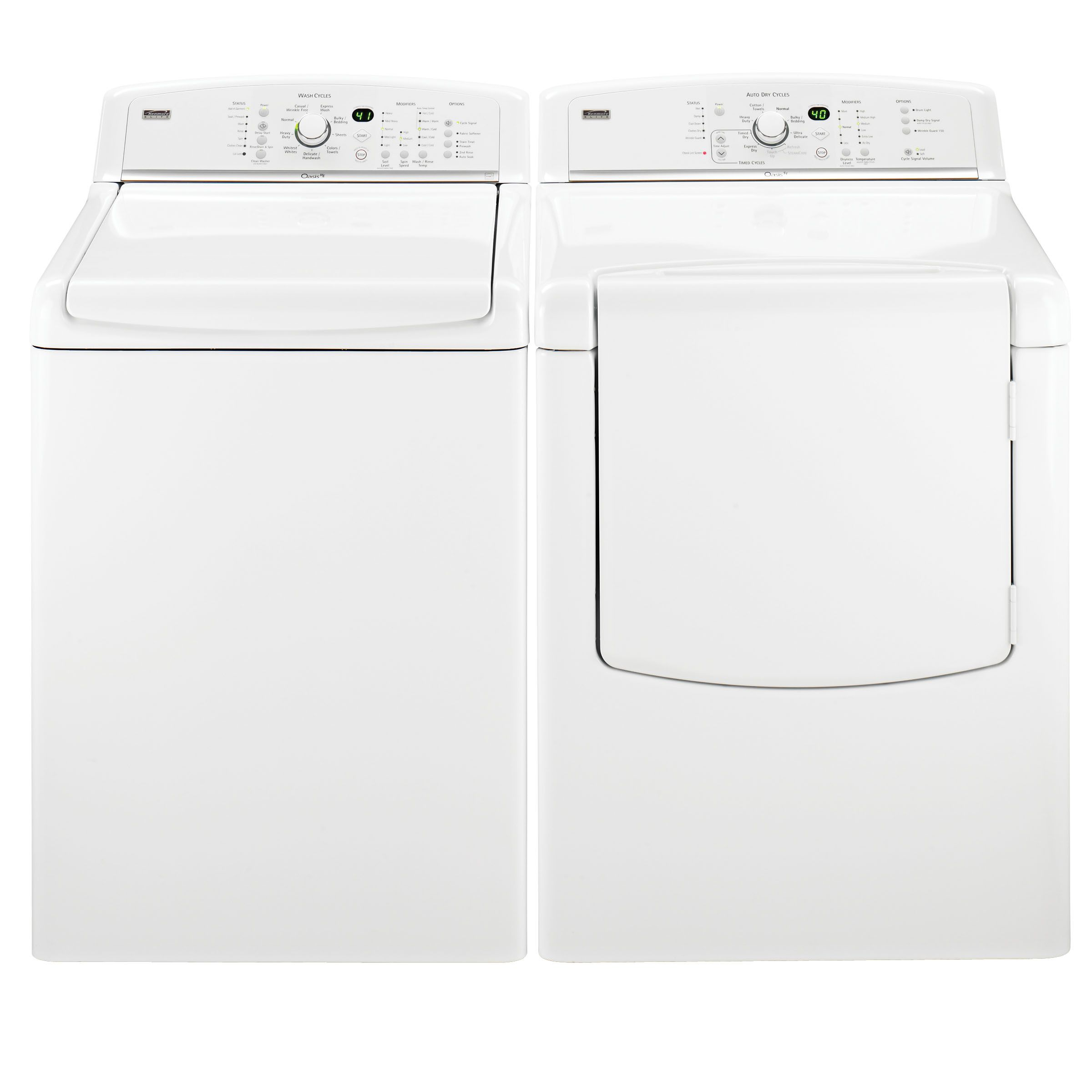 Kenmore Elite Oasis™ HE 4.7 cu. ft. Top-Load Washing Machine (2806)