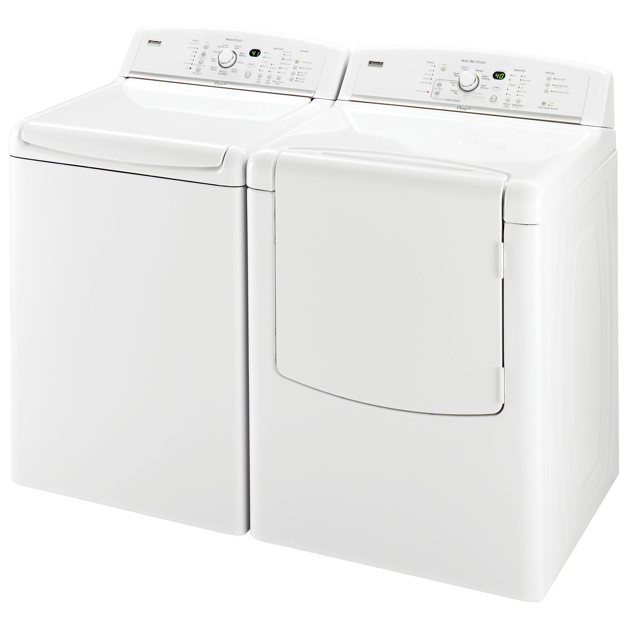 Kenmore Elite Oasis™ HE 4.7 cu. ft. Capacity Top-Load Washer
