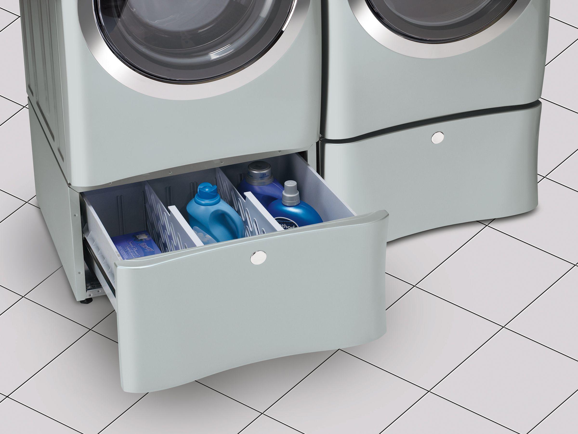 """Electrolux EPWD15IW 15"""" Laundry Pedestal w/ Drawer - Island White"""