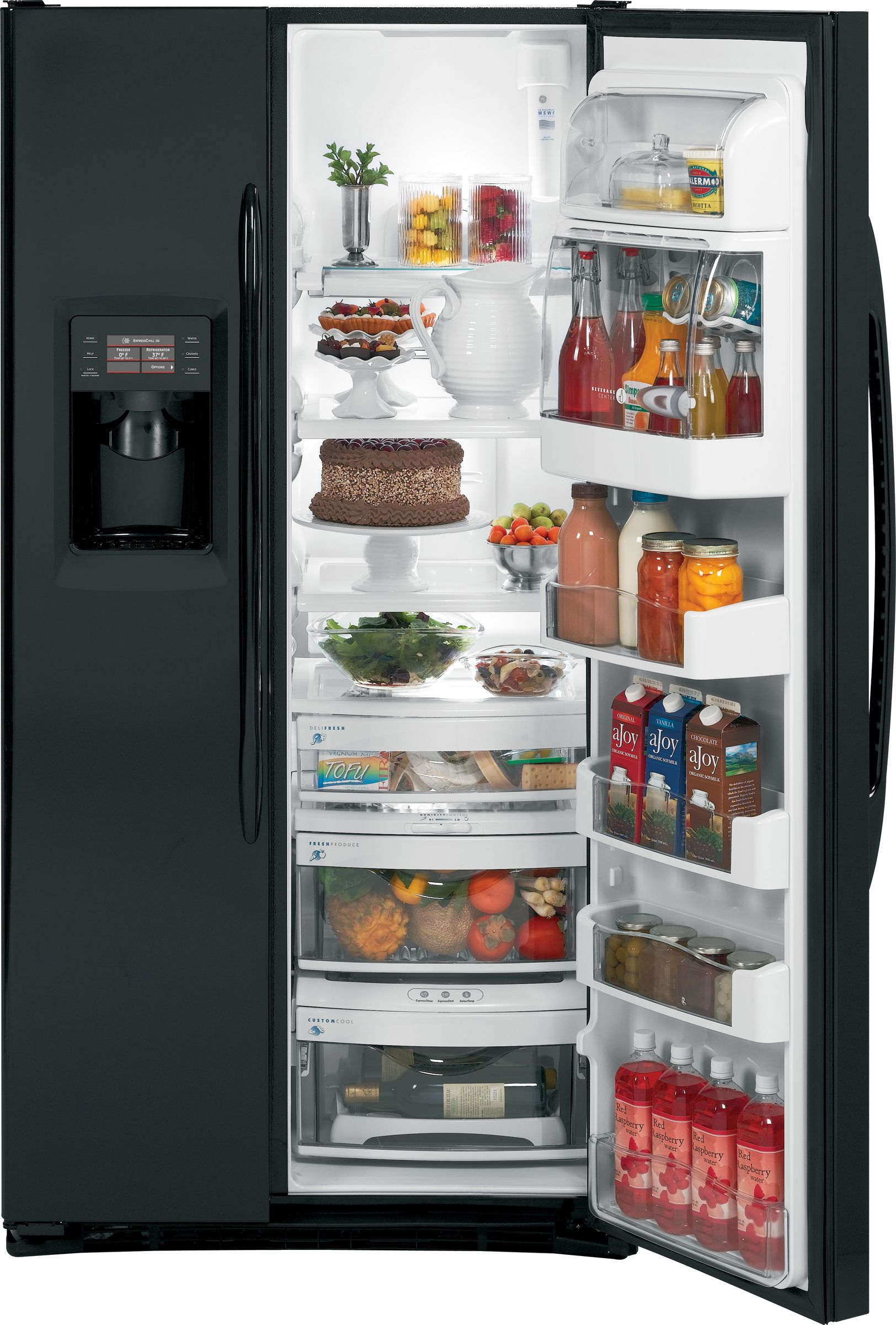 GE 24.6 cu. ft. Counter Depth Side-By-Side Refrigerator