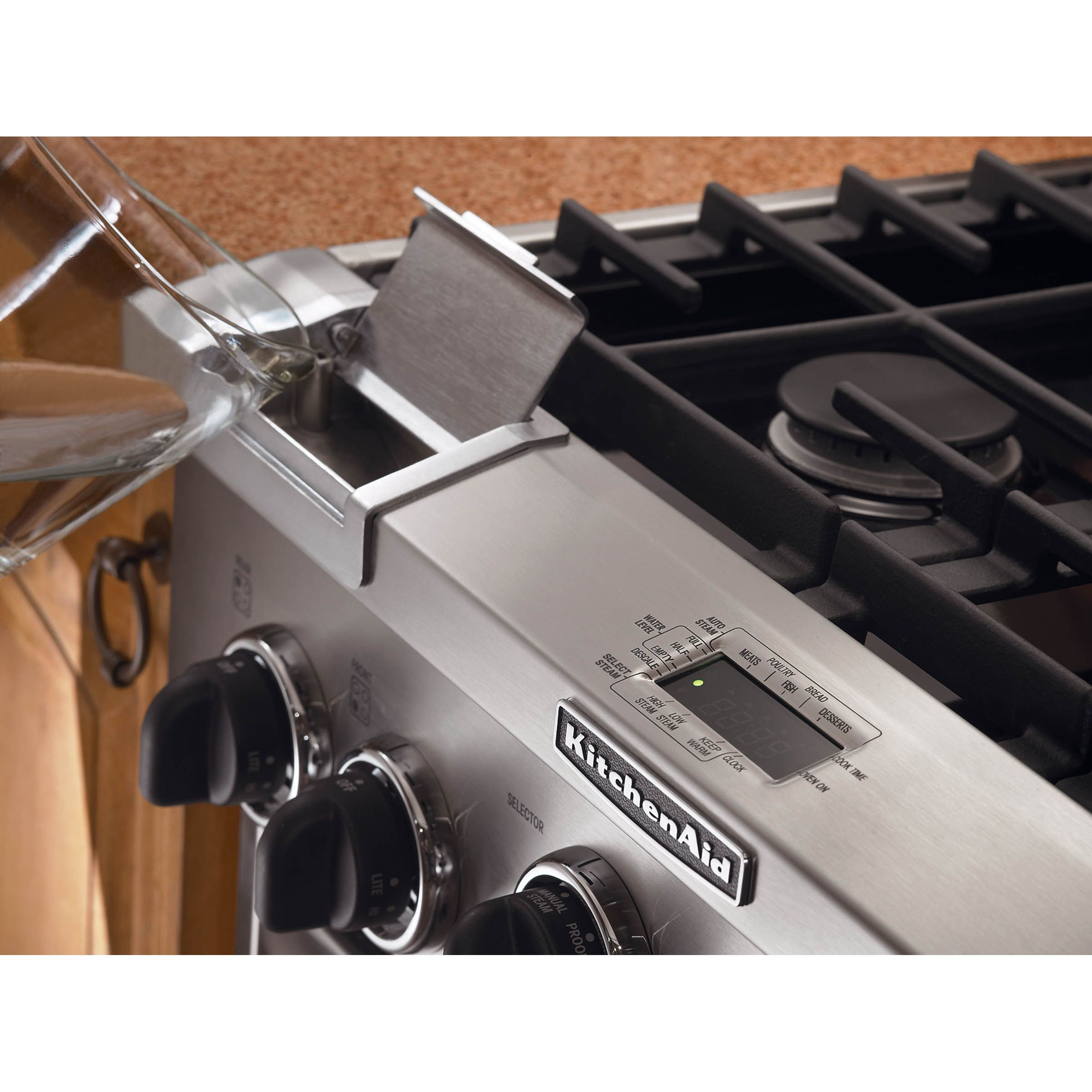 KitchenAid 30 in. Freestanding Dual-Fuel Range w/ Steam Assist