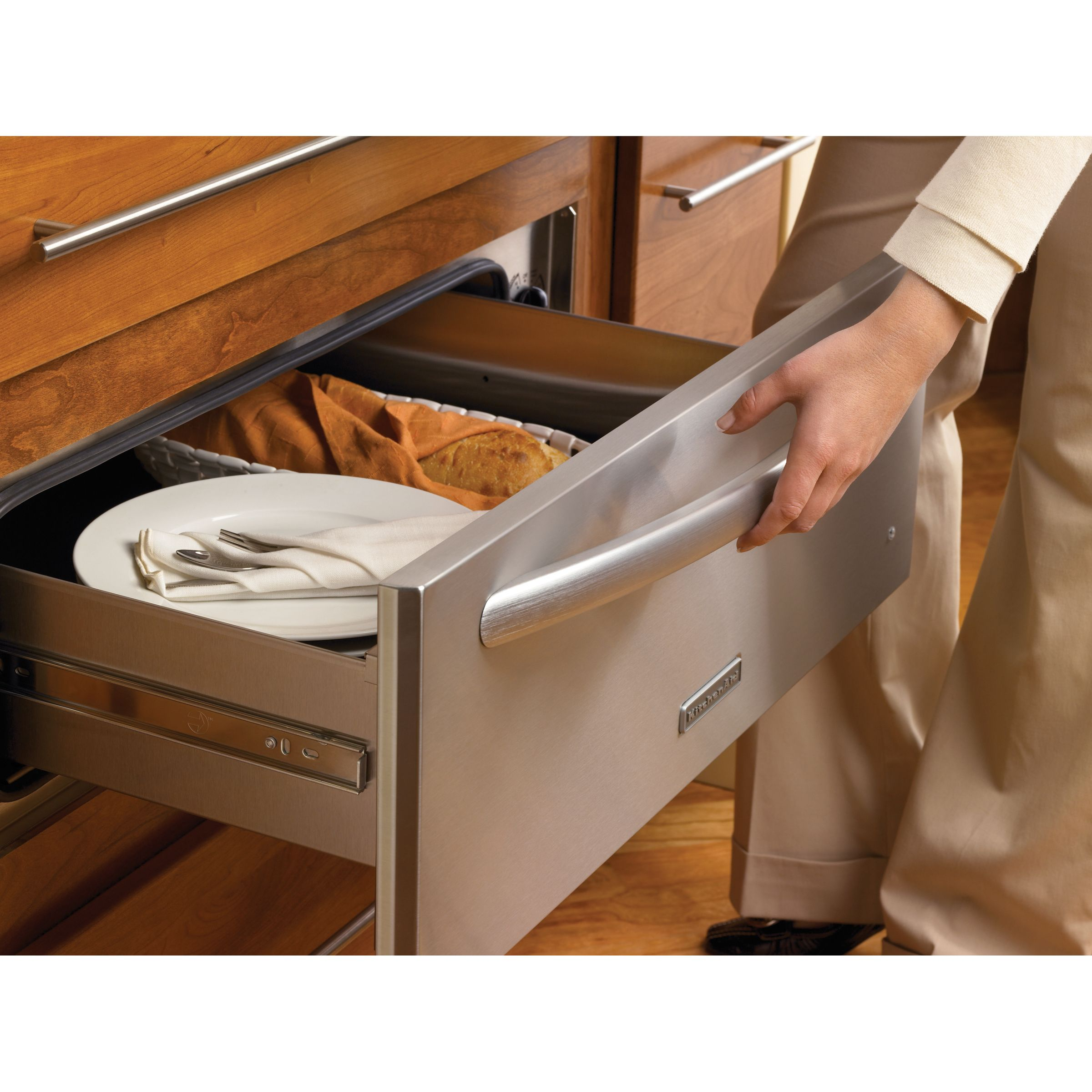 "KitchenAid 24"" Slow-Cook Warming Drawer"
