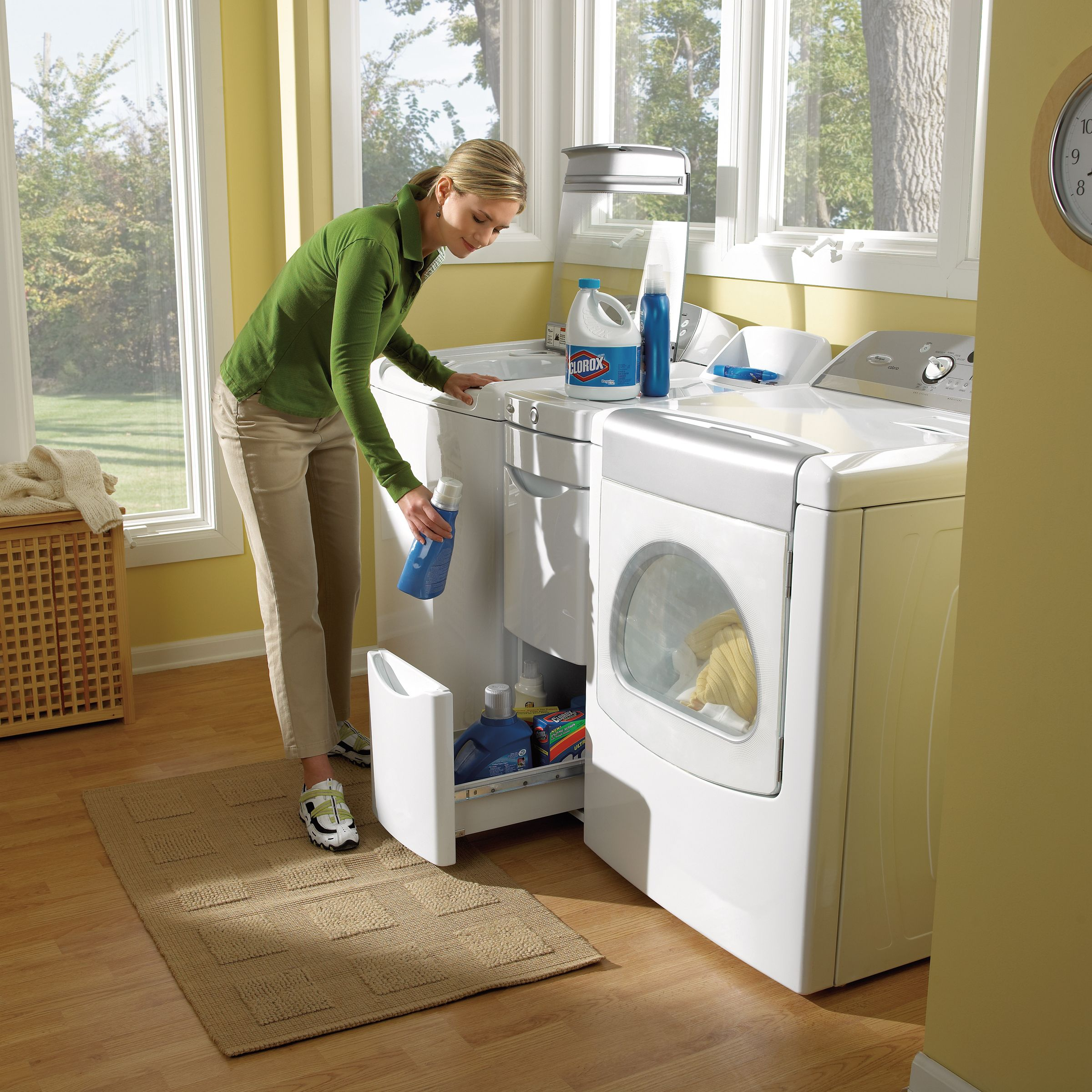 Whirlpool Laundry Storage Tower