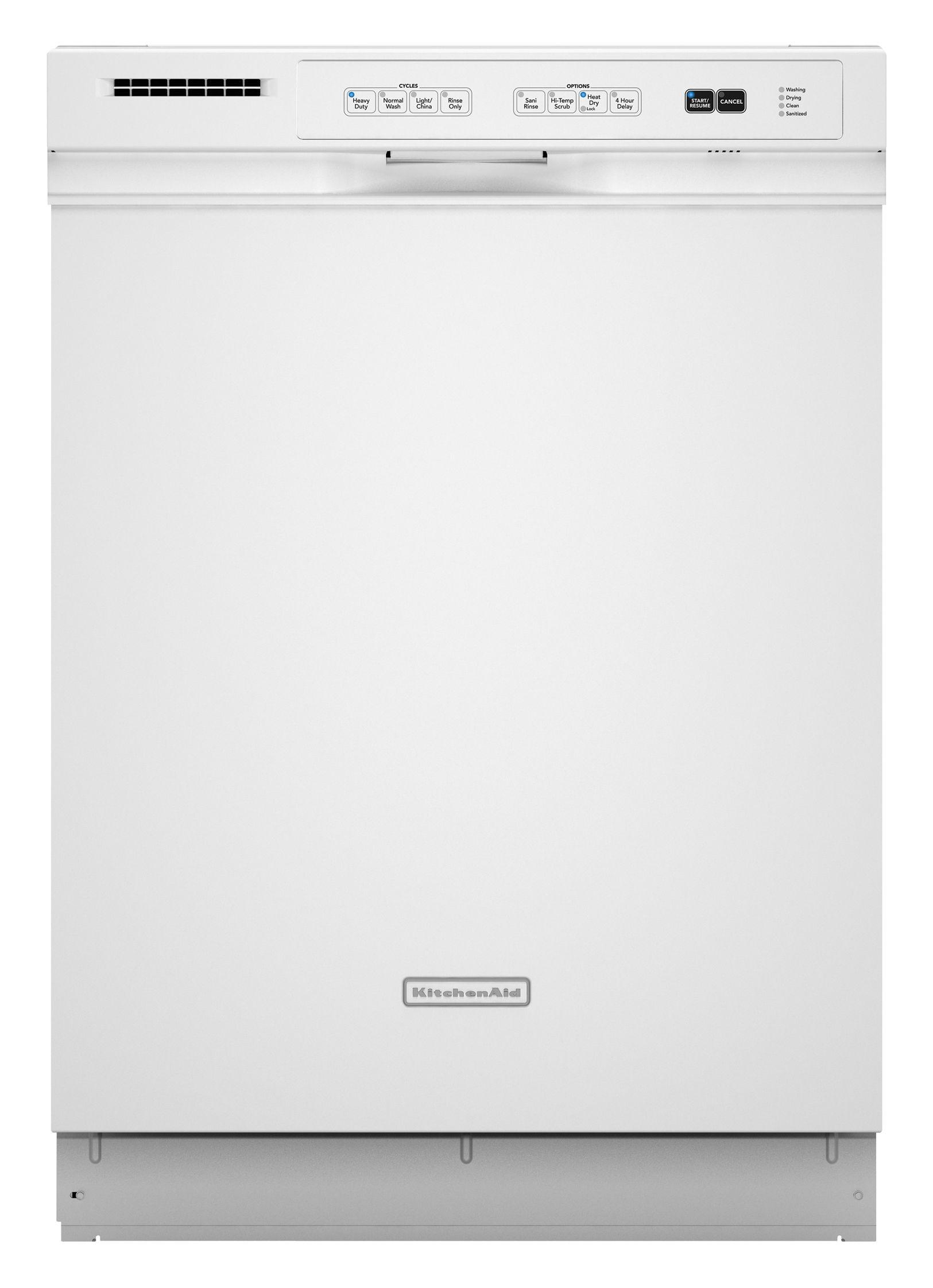 Kitchenaid Dishwasher Kud kitchenaid dishwasher parts | model kudk03itwh3 | sears partsdirect