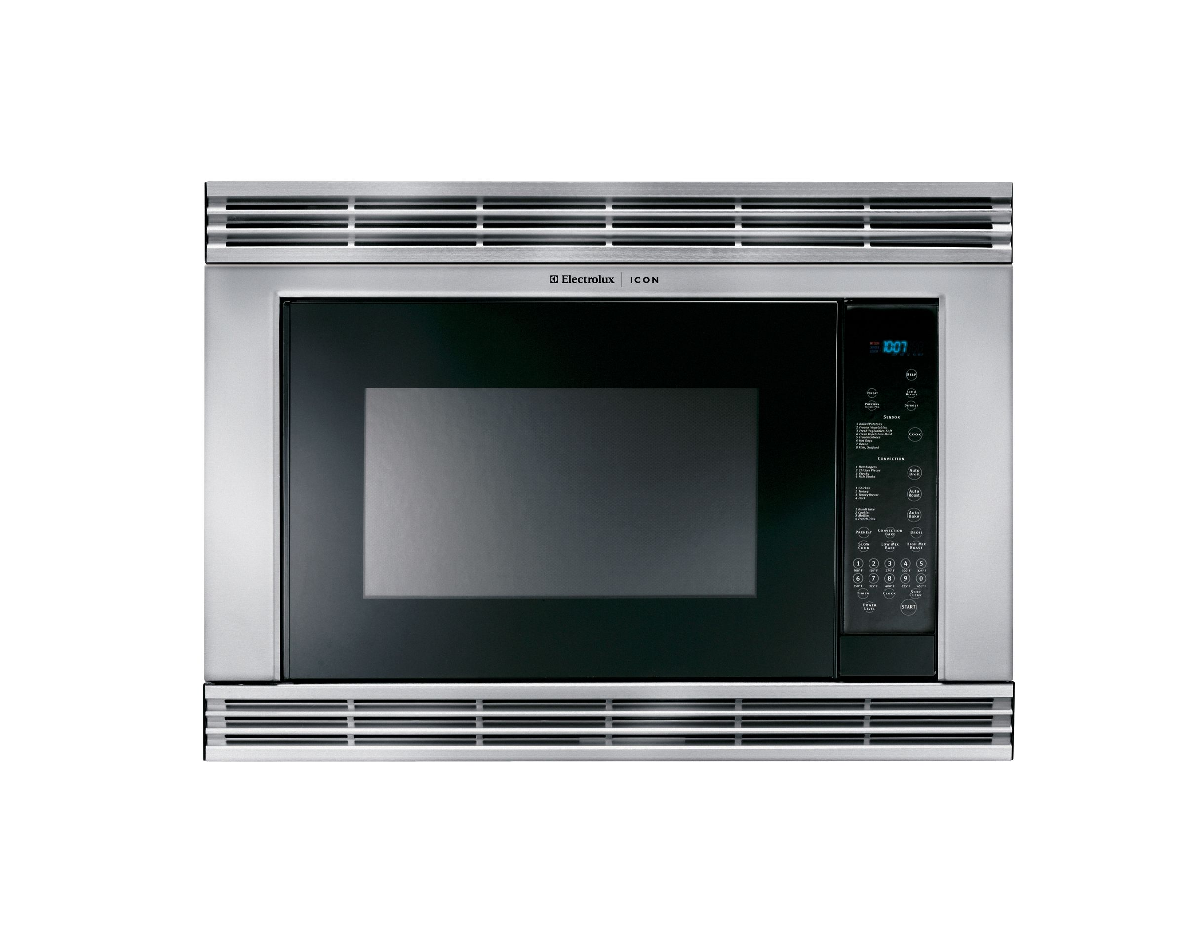 Electrolux ICON 1.5 cu. ft. Built-In Convection Microwave Oven - Stainless Steel