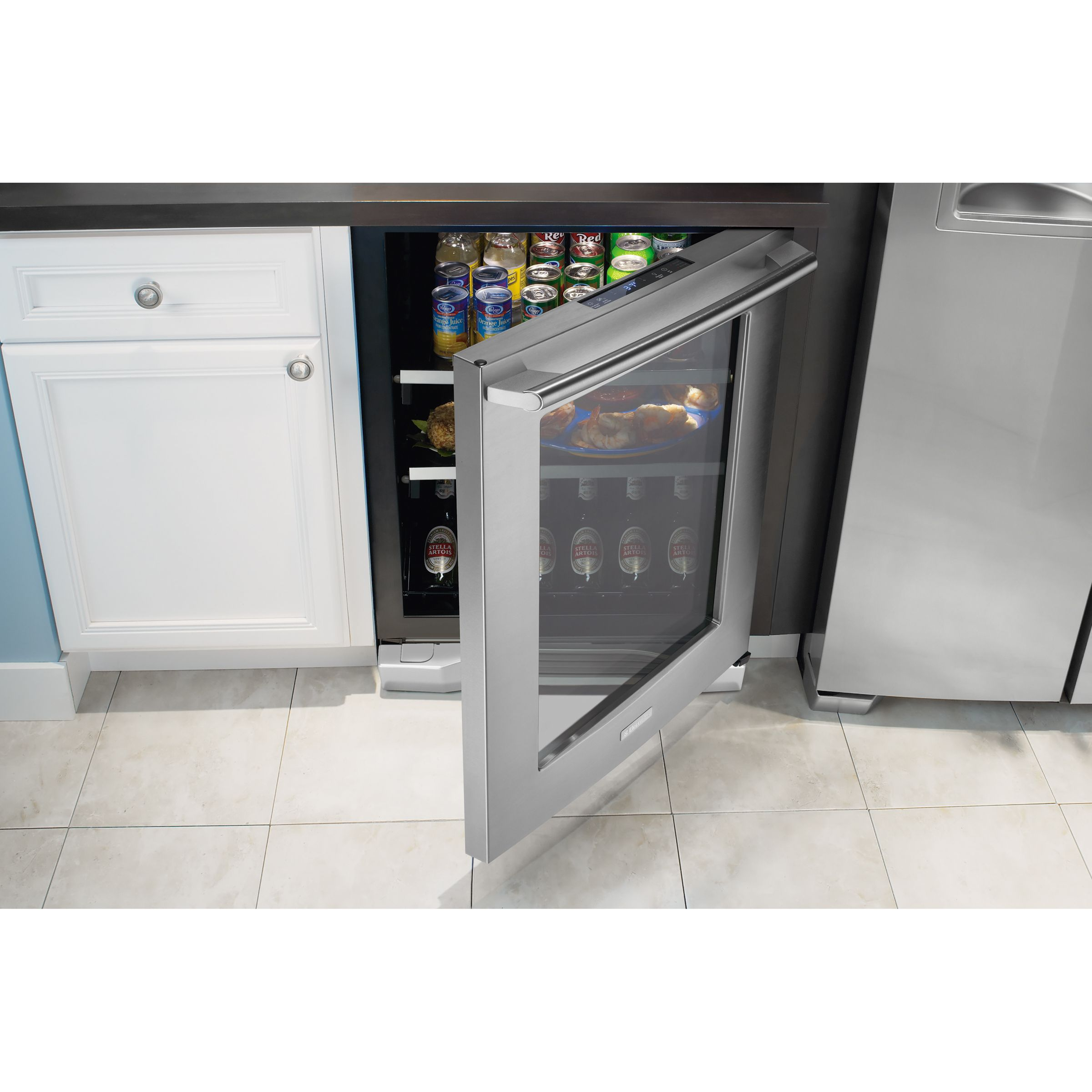 "Electrolux 24"" Undercounter Beverage Center - Stainless Steel"