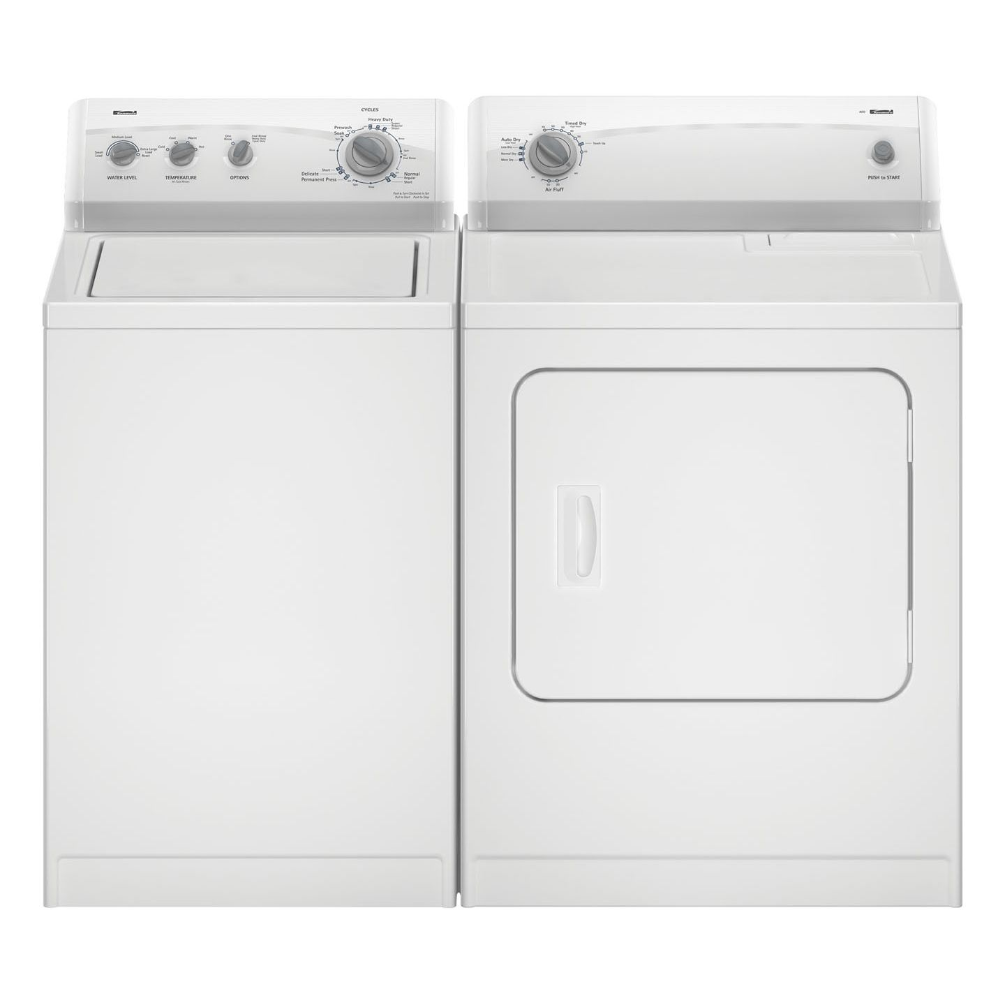 Kenmore 600 5.9 cu. ft. Electric Flatback Dryer - 6965