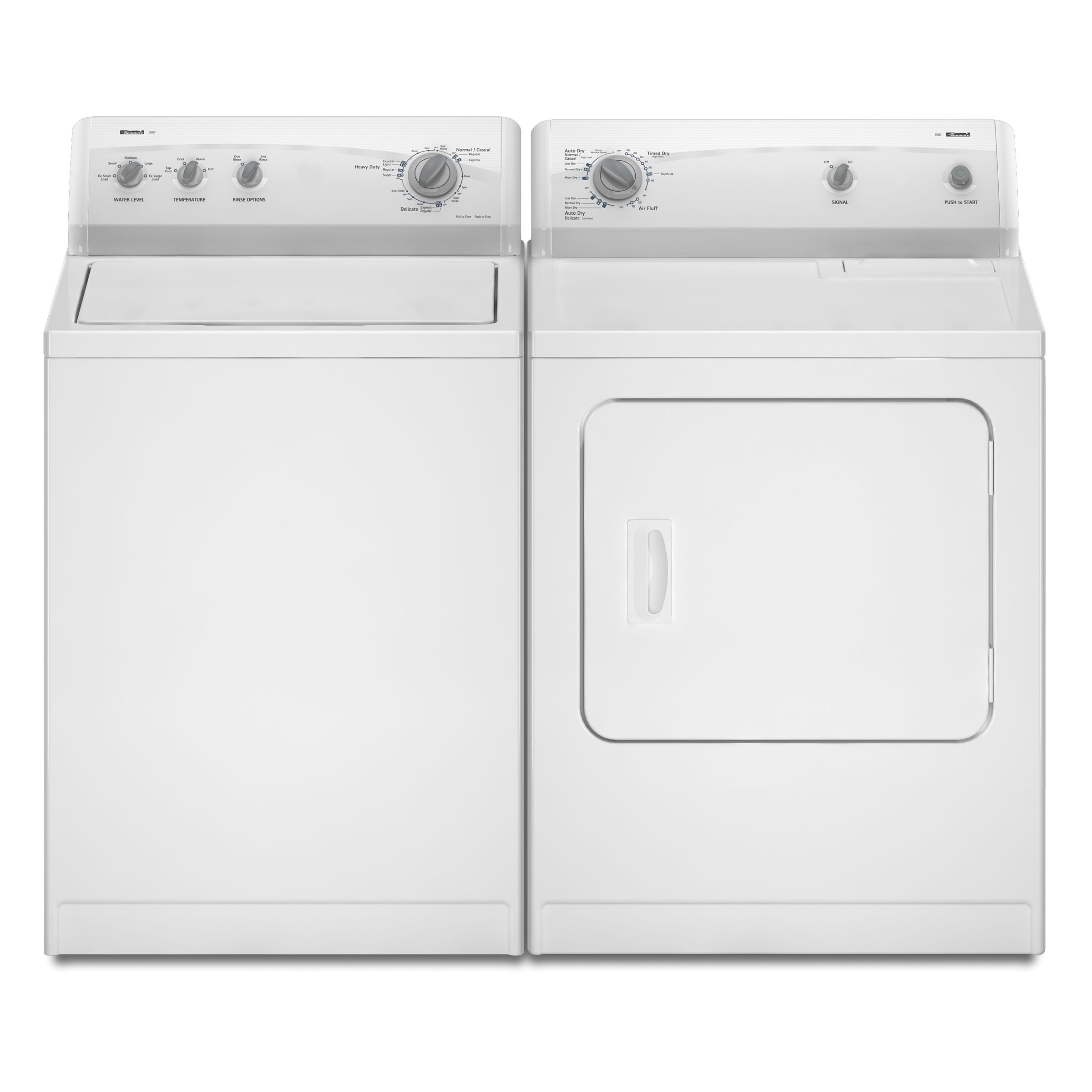 Kenmore 500 3.5 cu. ft. Capacity Top-Load Washer