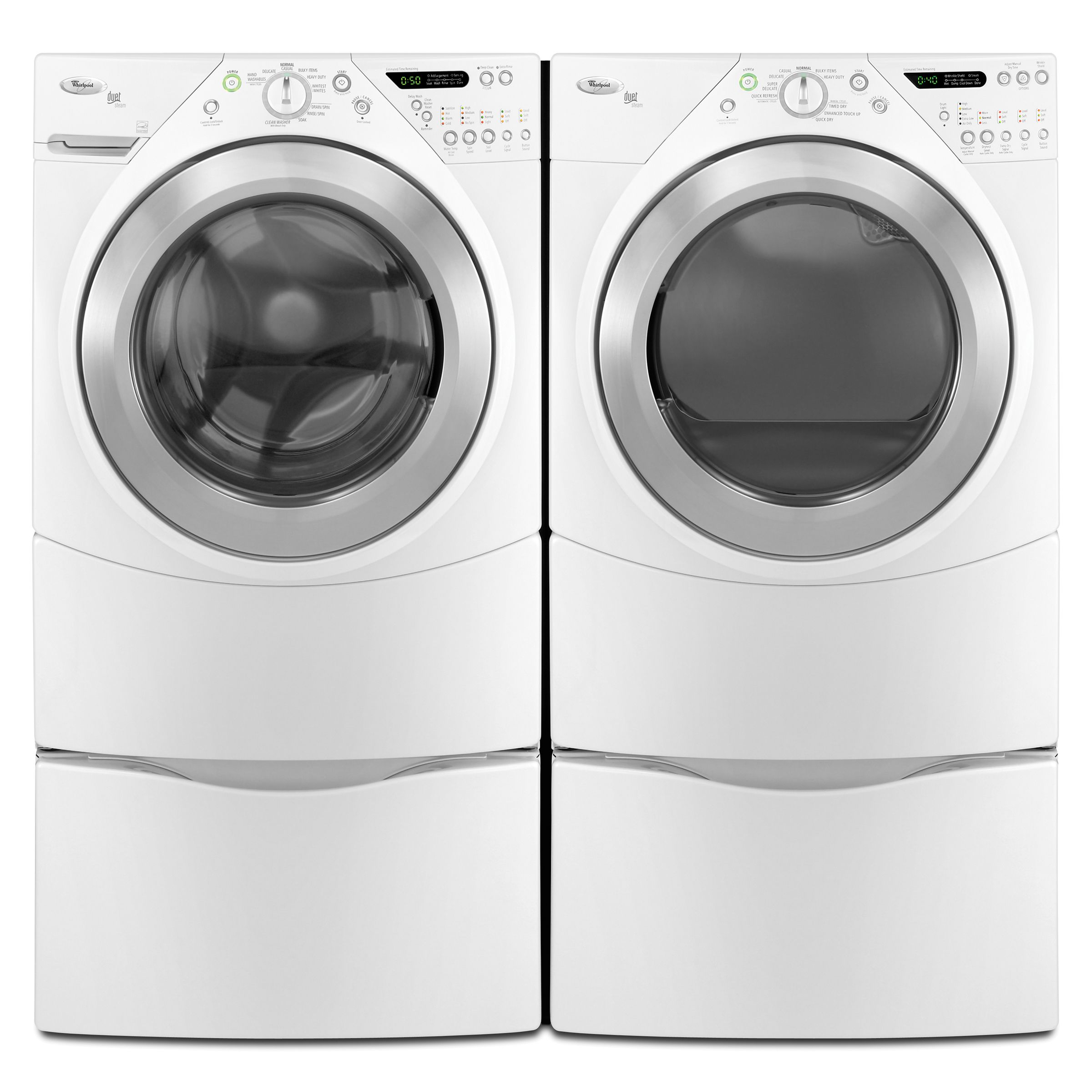 Whirlpool Duet® Steam 4.0 cu. ft. Front-Load Ultra Capacity Washing Machine (WFW9500T )