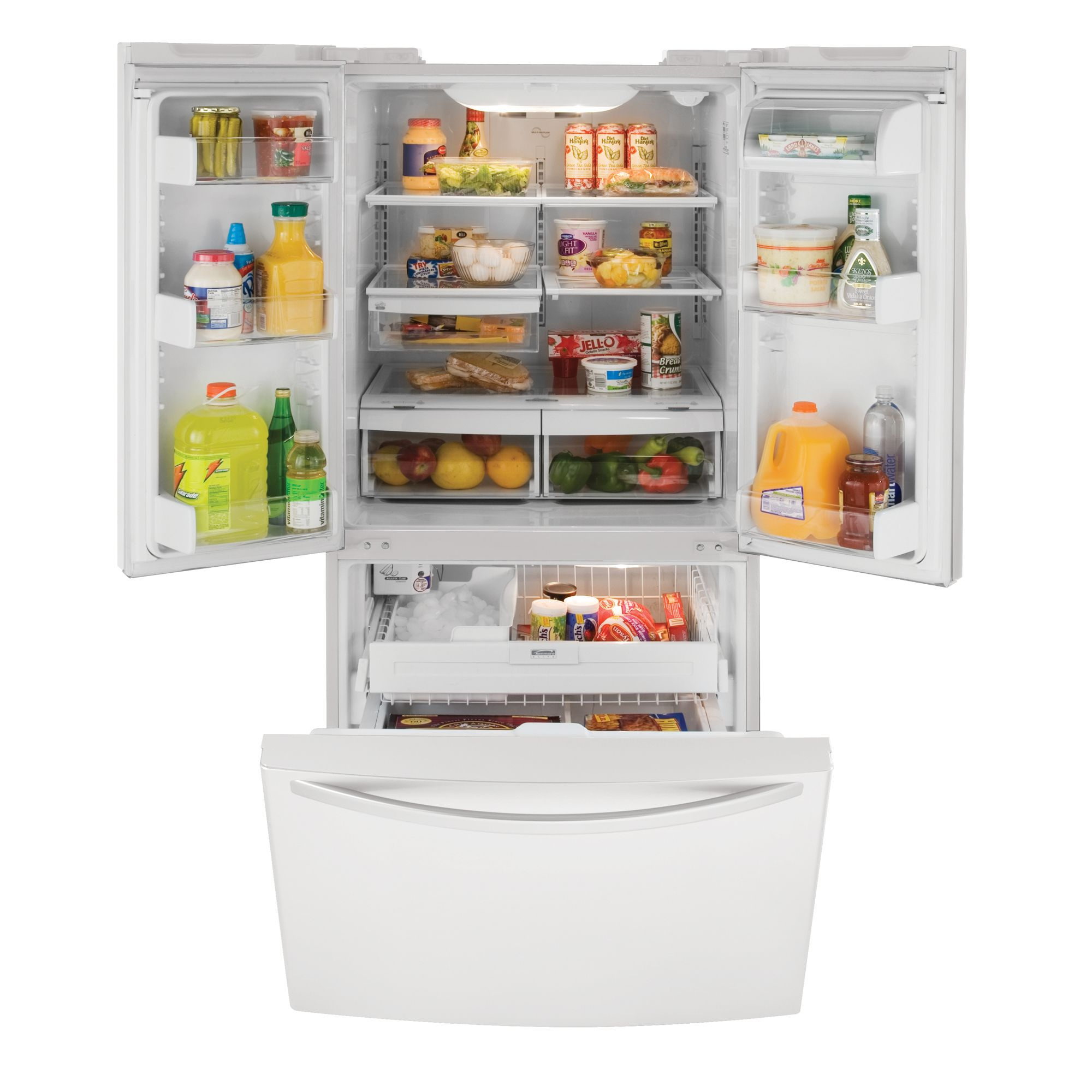 Kenmore Elite 23.0 cu. ft. French-Door Bottom Freezer Refrigerator (7834)