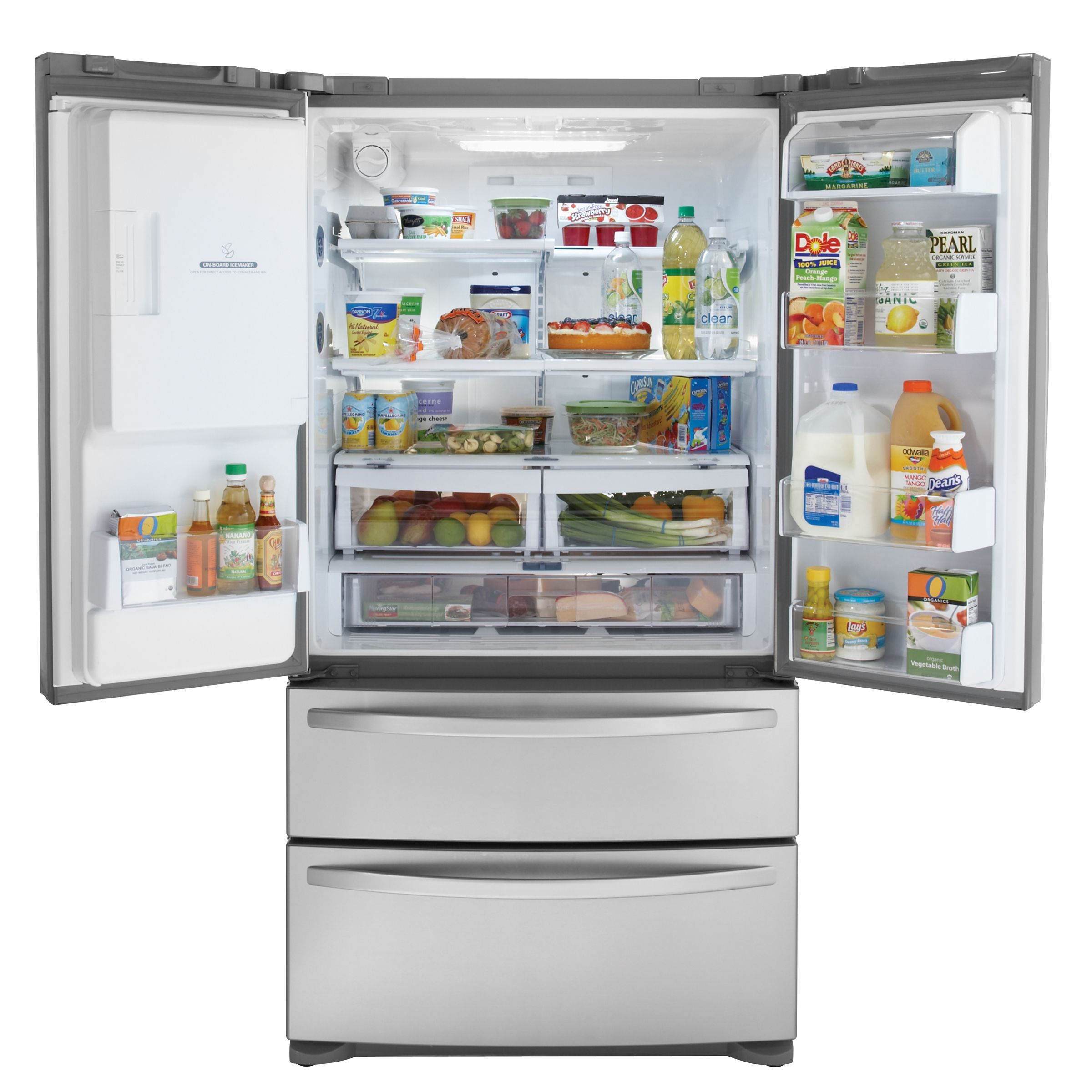 Kenmore Elite 24.7 cu. ft. French-Door Bottom-Freezer Refrigerator