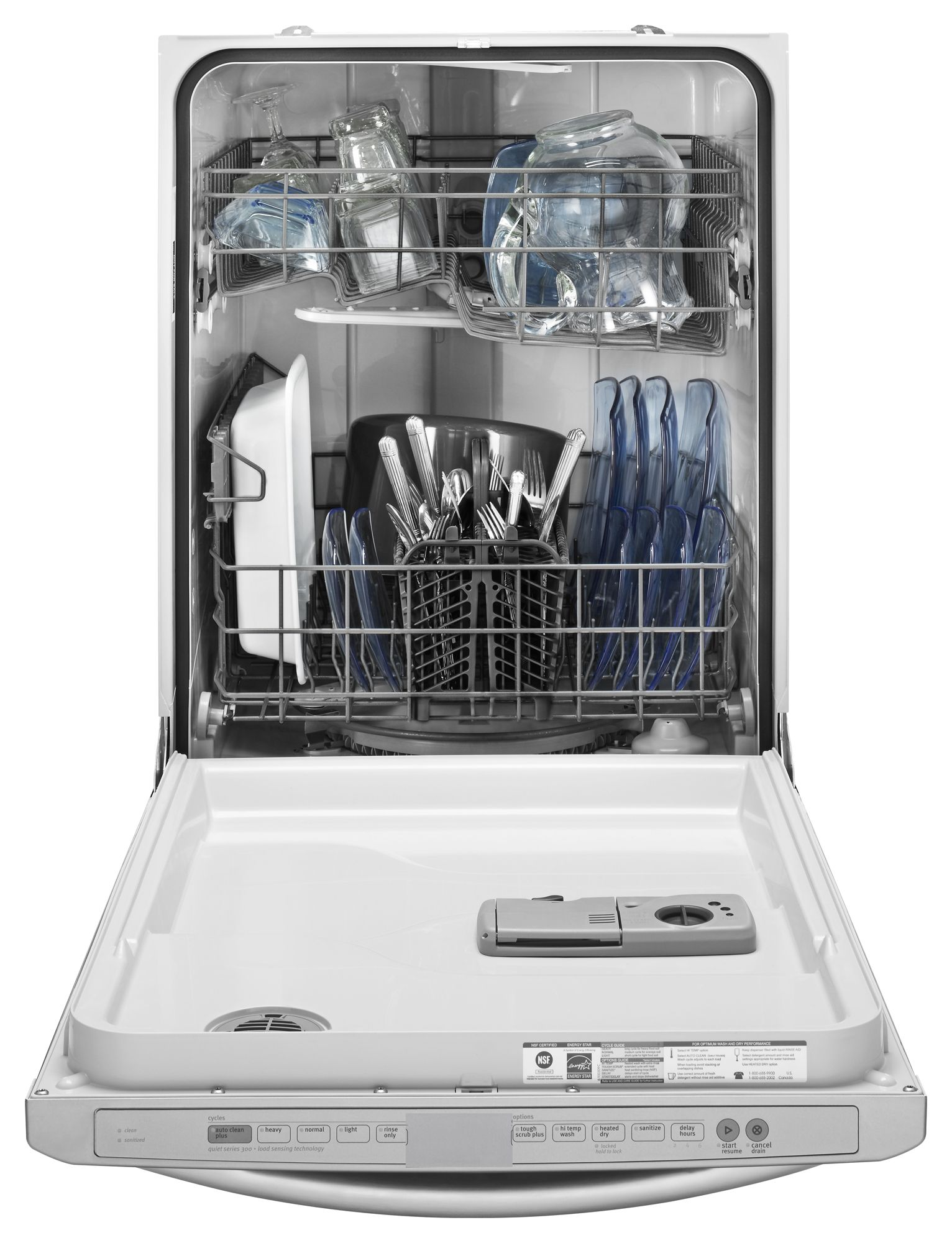 Maytag 24 in. Built-In Jetclean® II Dishwasher w/ ToughScrub™ Plus