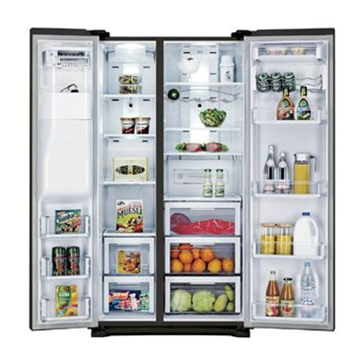 Samsung 24.1 cu. ft. Side-By-Side  Refrigerator Black