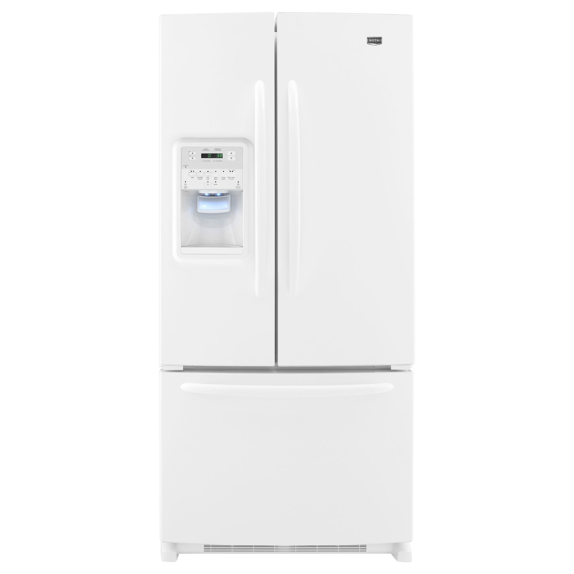 how to find refrigerator model number maytag