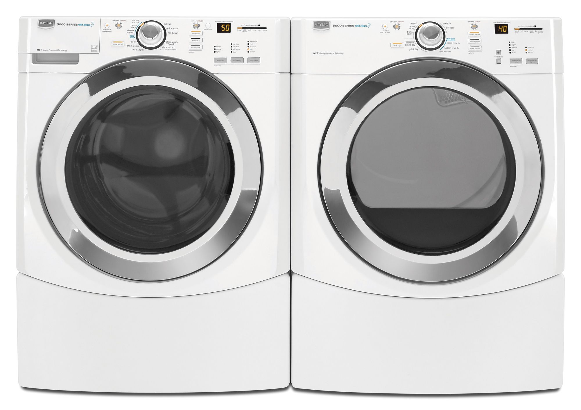 Maytag Performance Series 7.2 cu. ft. Electric Steam Capacity Dryer