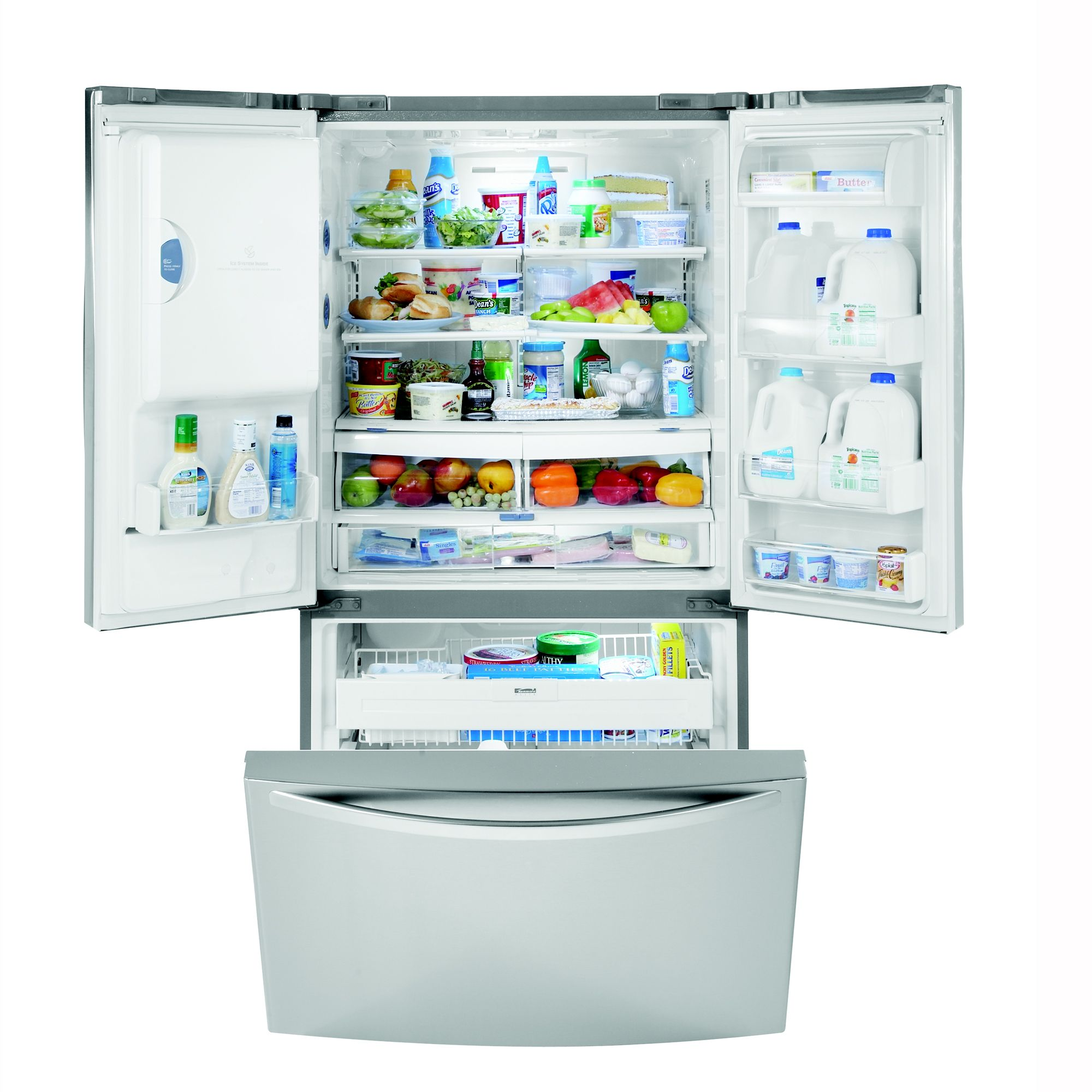 Kenmore Elite 25.0 cu. ft. French-Door Refrigerator w/ Ice & Water Dispenser