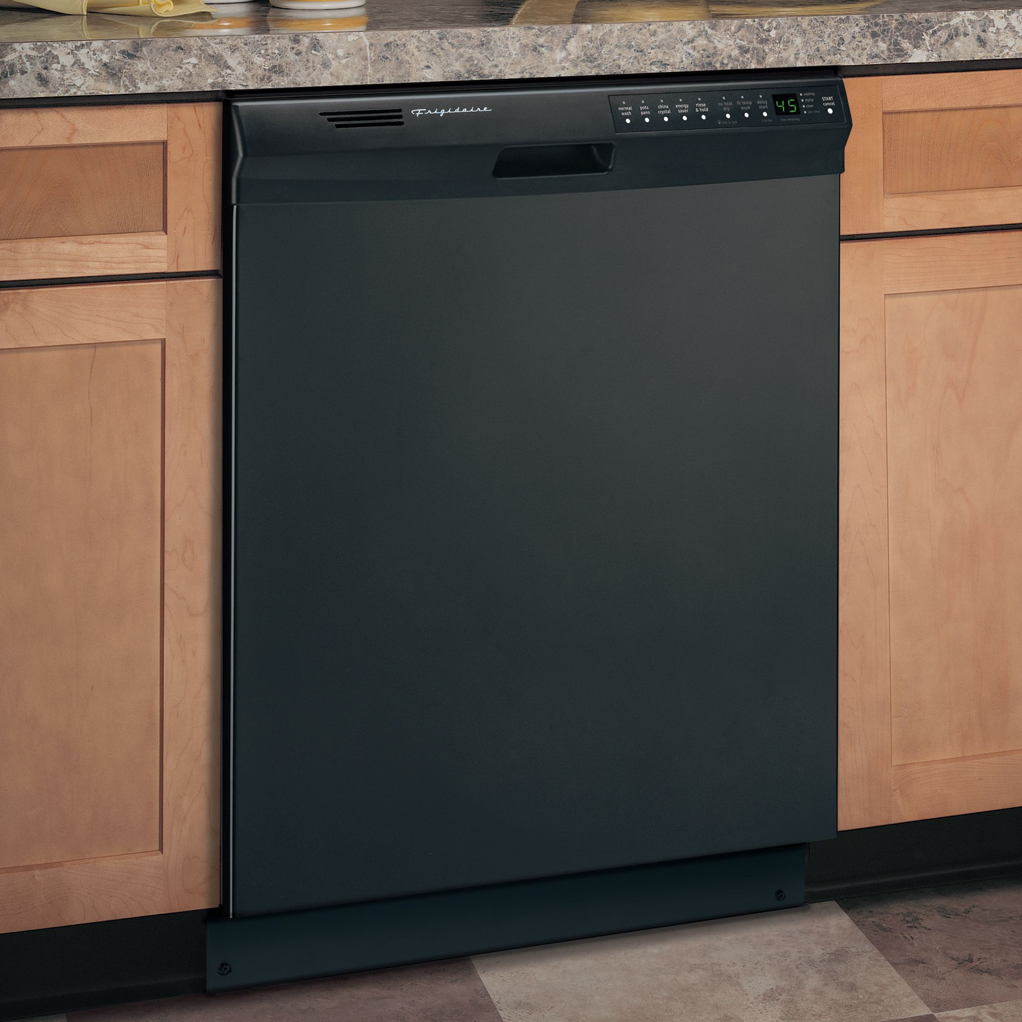 "Frigidaire FDB2410HIB 24"" Built-In Dishwasher - Black"