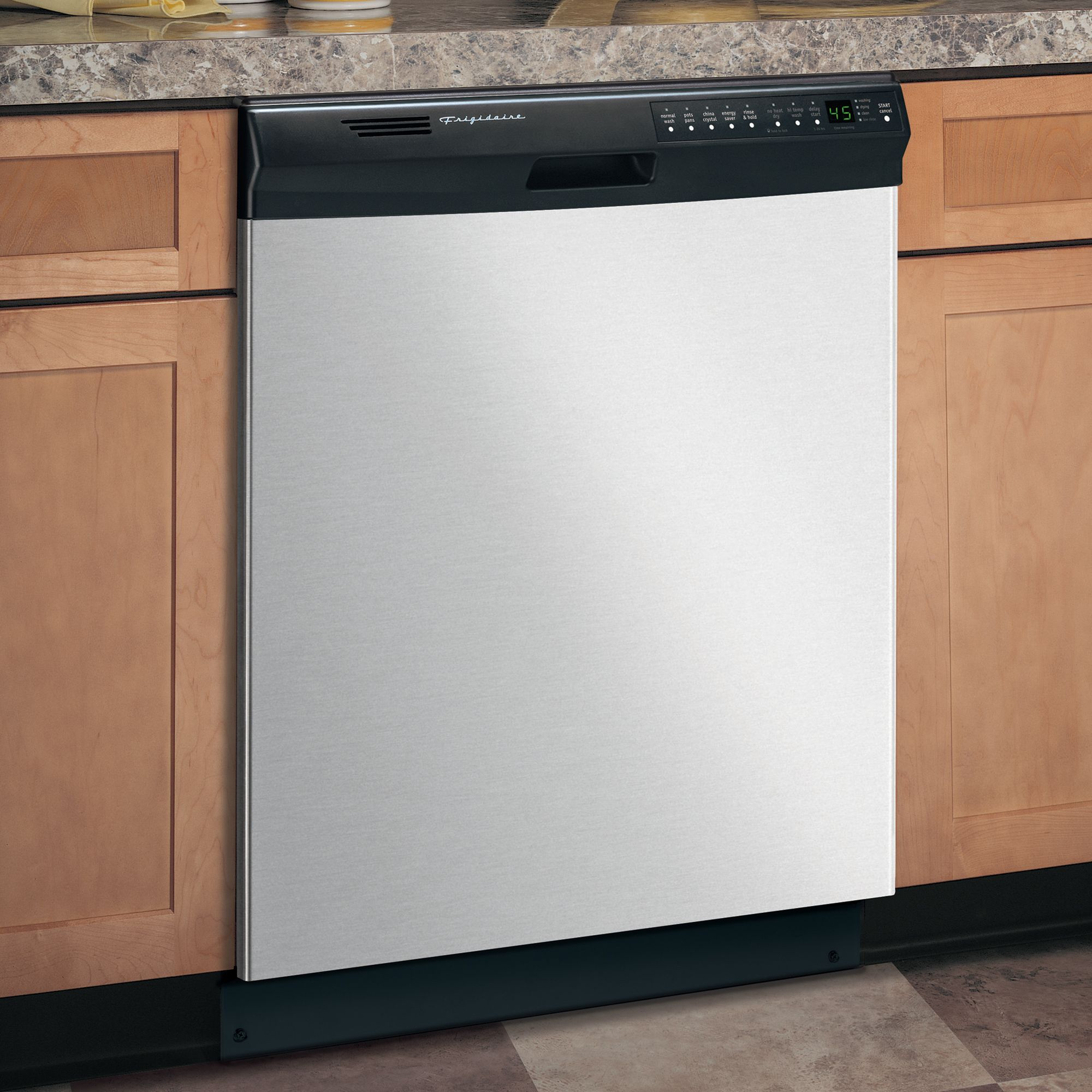 "Frigidaire 24"" Built-In Dishwasher - Stainless"
