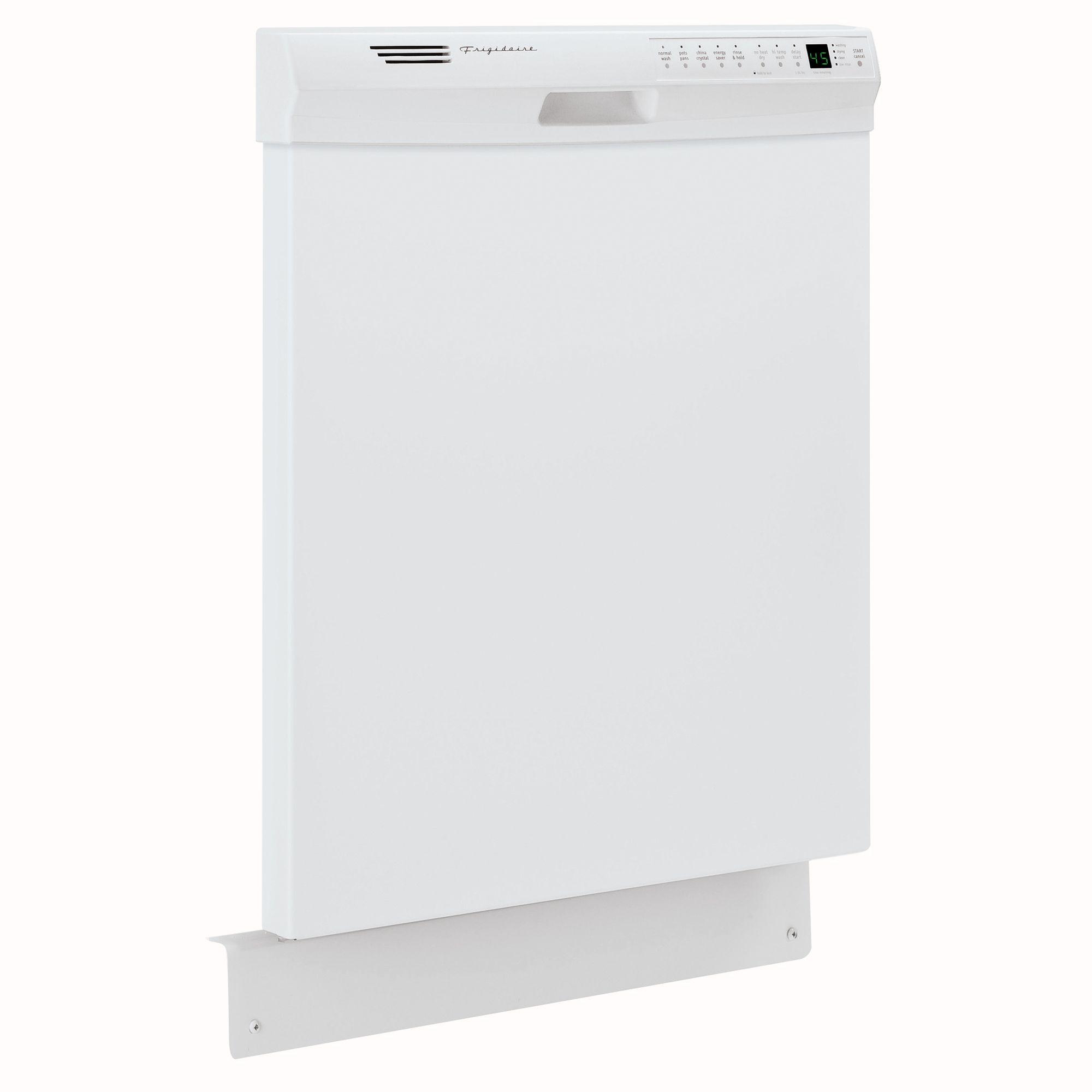 "Frigidaire 24"" Built-In Dishwasher - White"