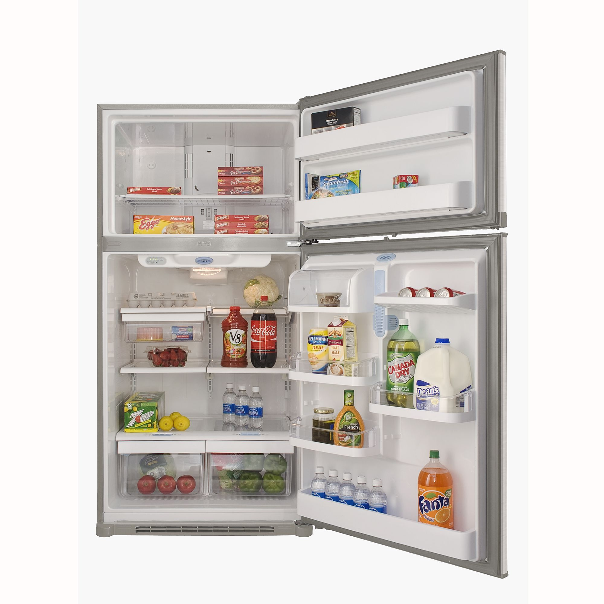 Kenmore 22.1 cu. ft. Top Freezer Refrigerator - Stainless Steel
