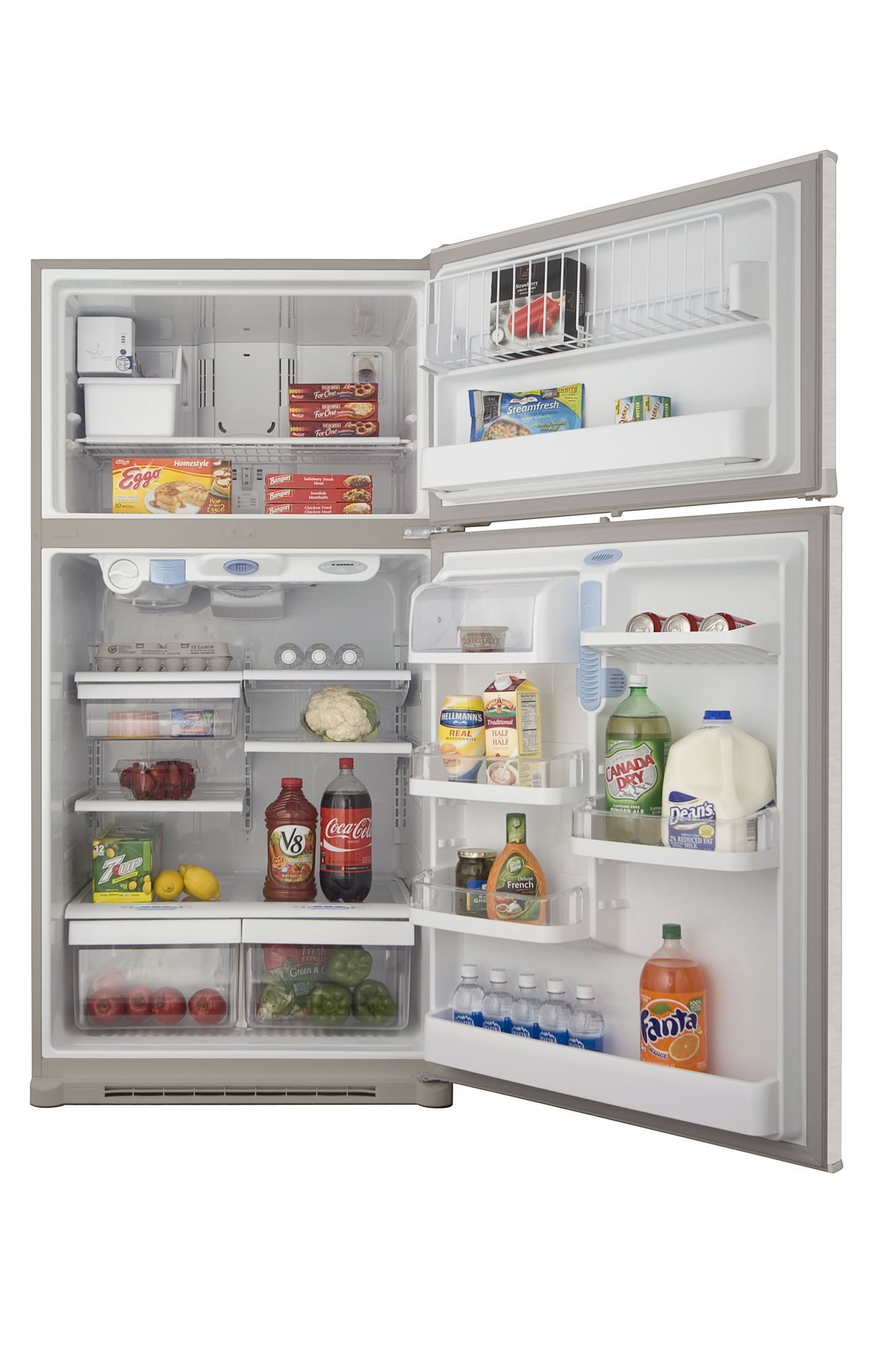 Kenmore 19.0 cu. ft. Top Freezer Refrigerator w/ Internal Water Dispenser - Stainless Steel
