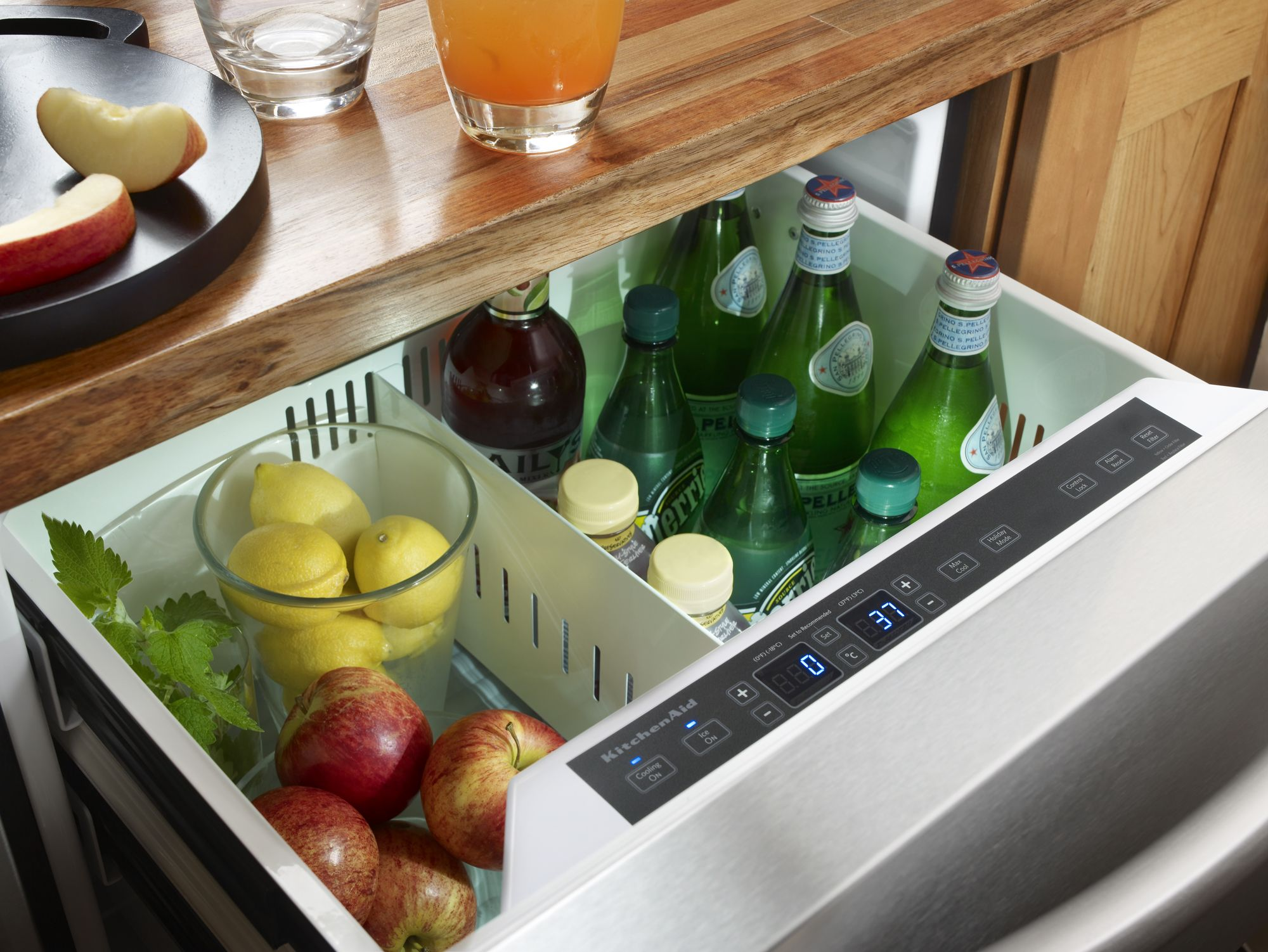 KitchenAid 4.8 cu. ft. Refrigerator/Freezer Drawer w/ Ice Maker