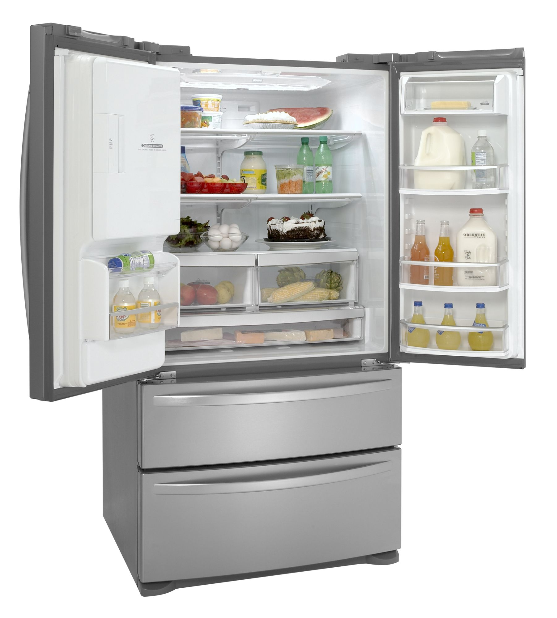 Kenmore Elite 27.5 cu. ft. French-Door Bottom Freezer Refrigerator (7977)