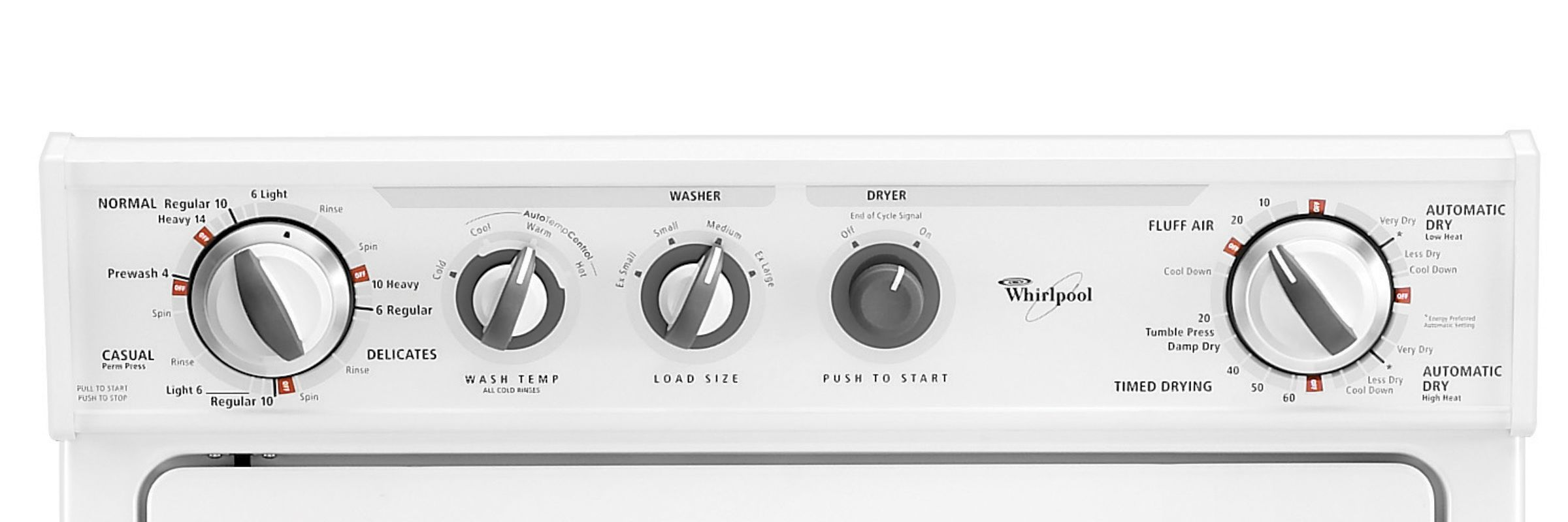 Whirlpool Thin Twin® 27 in. Gas Laundry Center (WGT3300S)