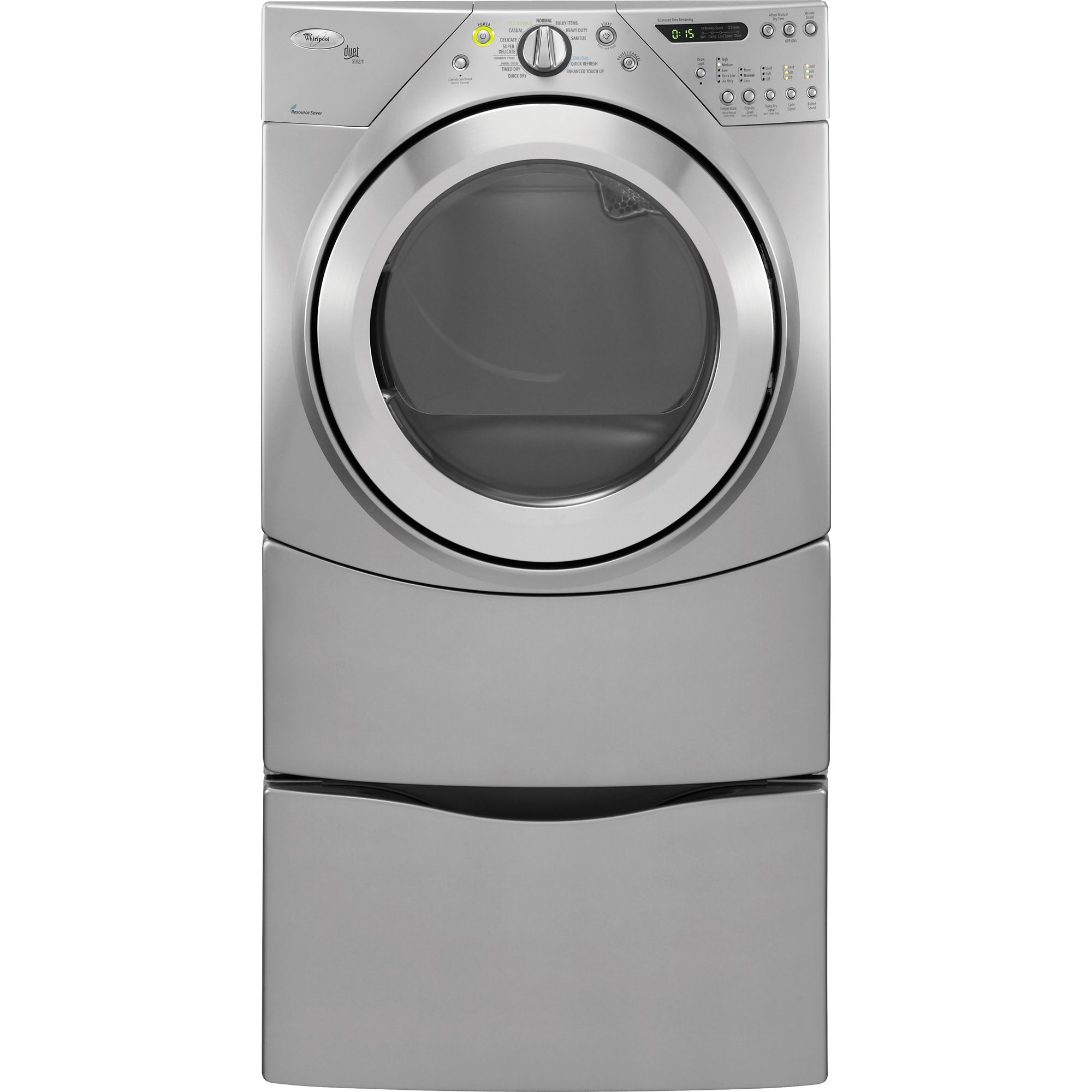 Whirlpool Duet® 7.2 cu. ft. Gas Steam Dryer