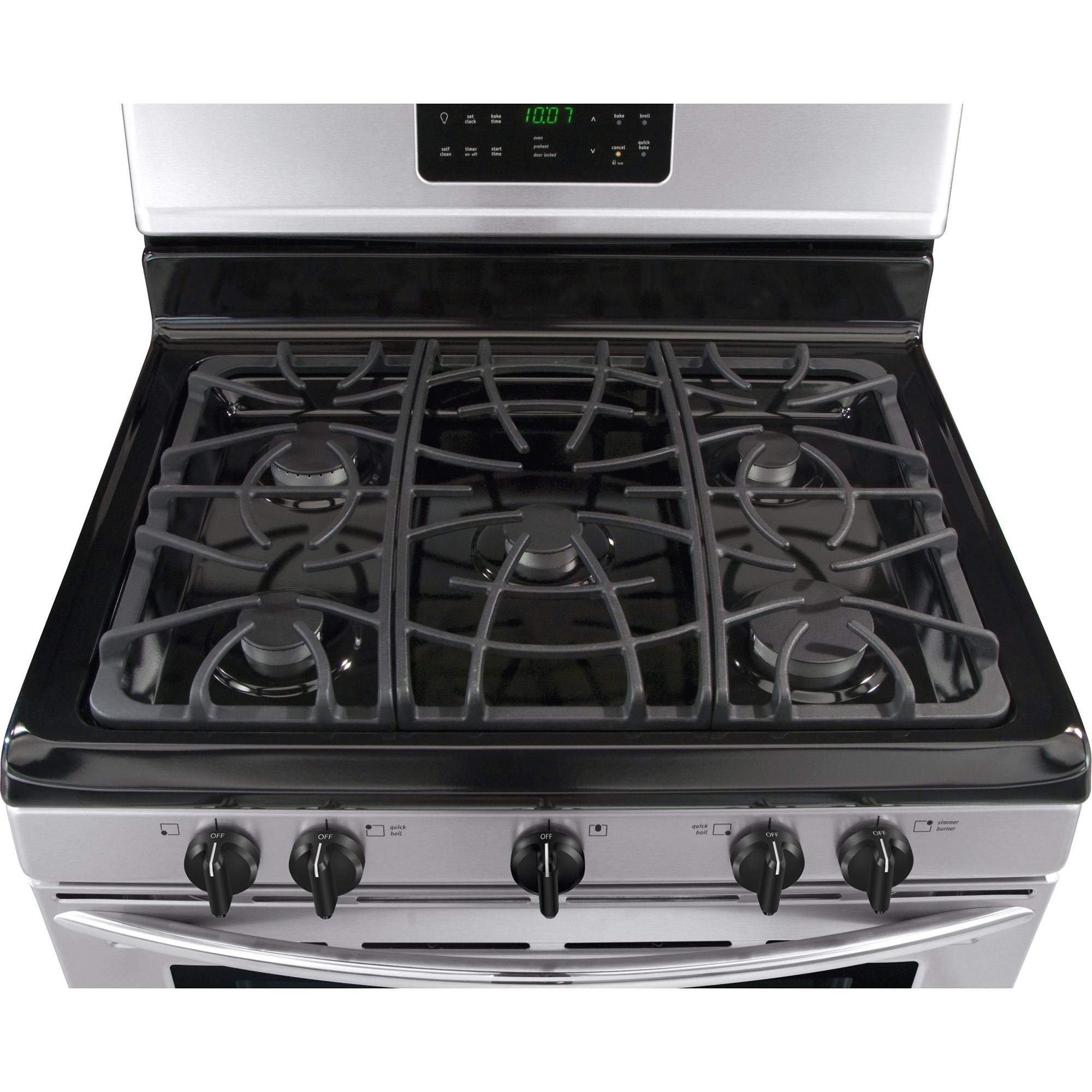 "Frigidaire Gallery 30"" Freestanding Gas Range - Black"