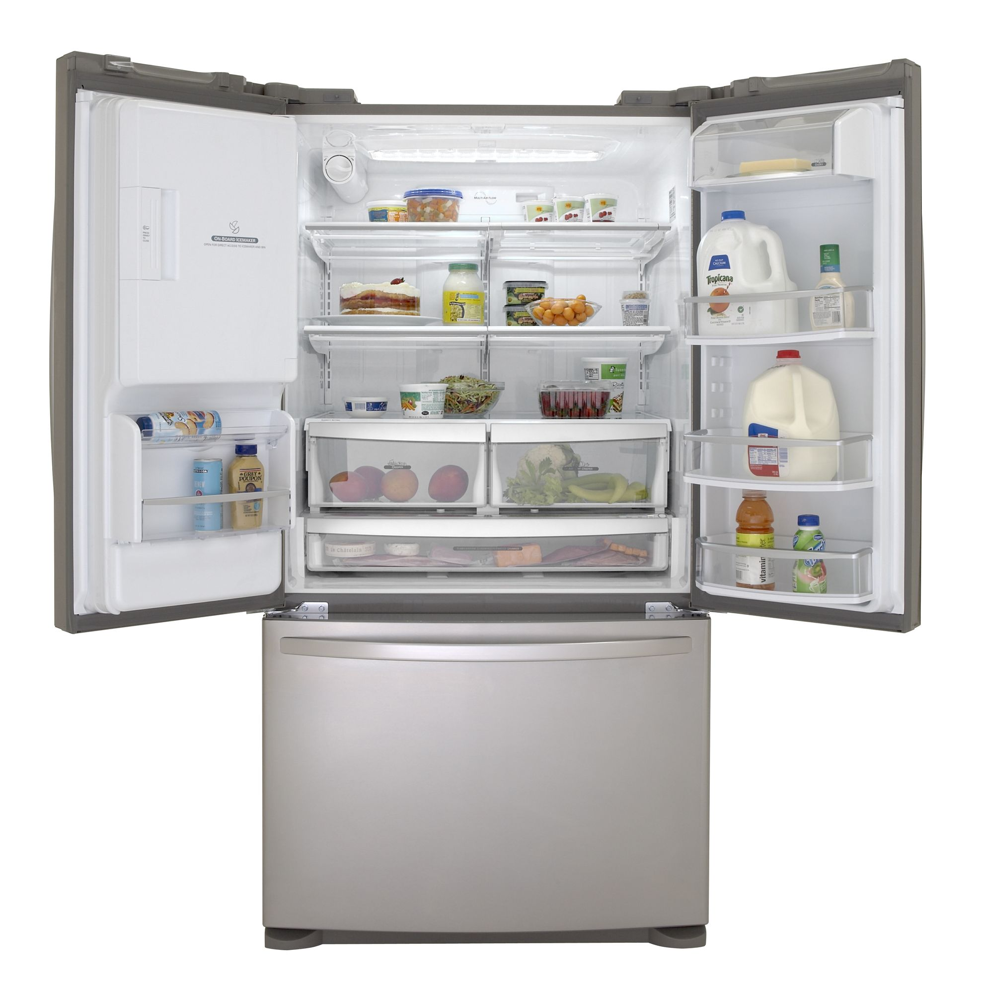 Kenmore Elite 27.6 cu. ft. French-Door Bottom Freezer Refrigerator (7978)