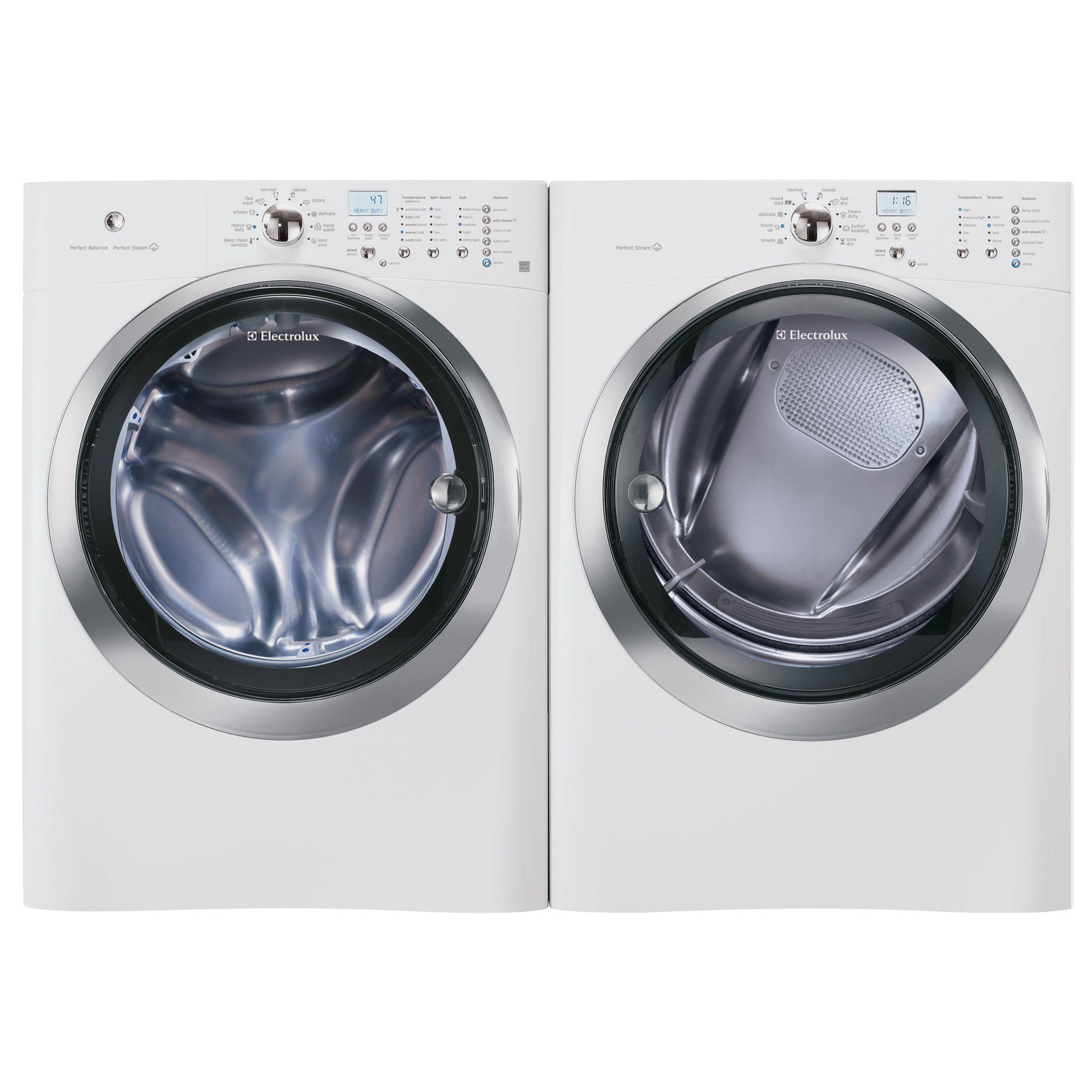 Electrolux EIMGD55IIW IQ-Touch™ 8.0 cu. ft. Gas Steam  Dryer - Island White