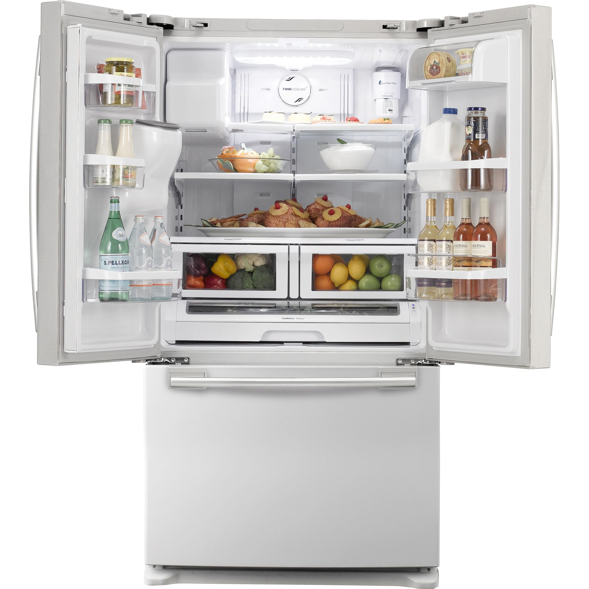 Samsung 26.0 cu. ft. French-Door Bottom Freezer Refrigerator,