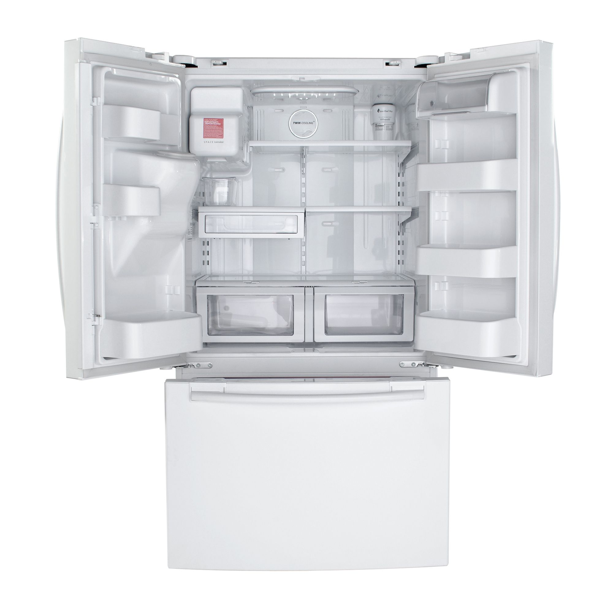Samsung 26.0 cu. ft. French-Door Bottom Freezer Refrigerator,