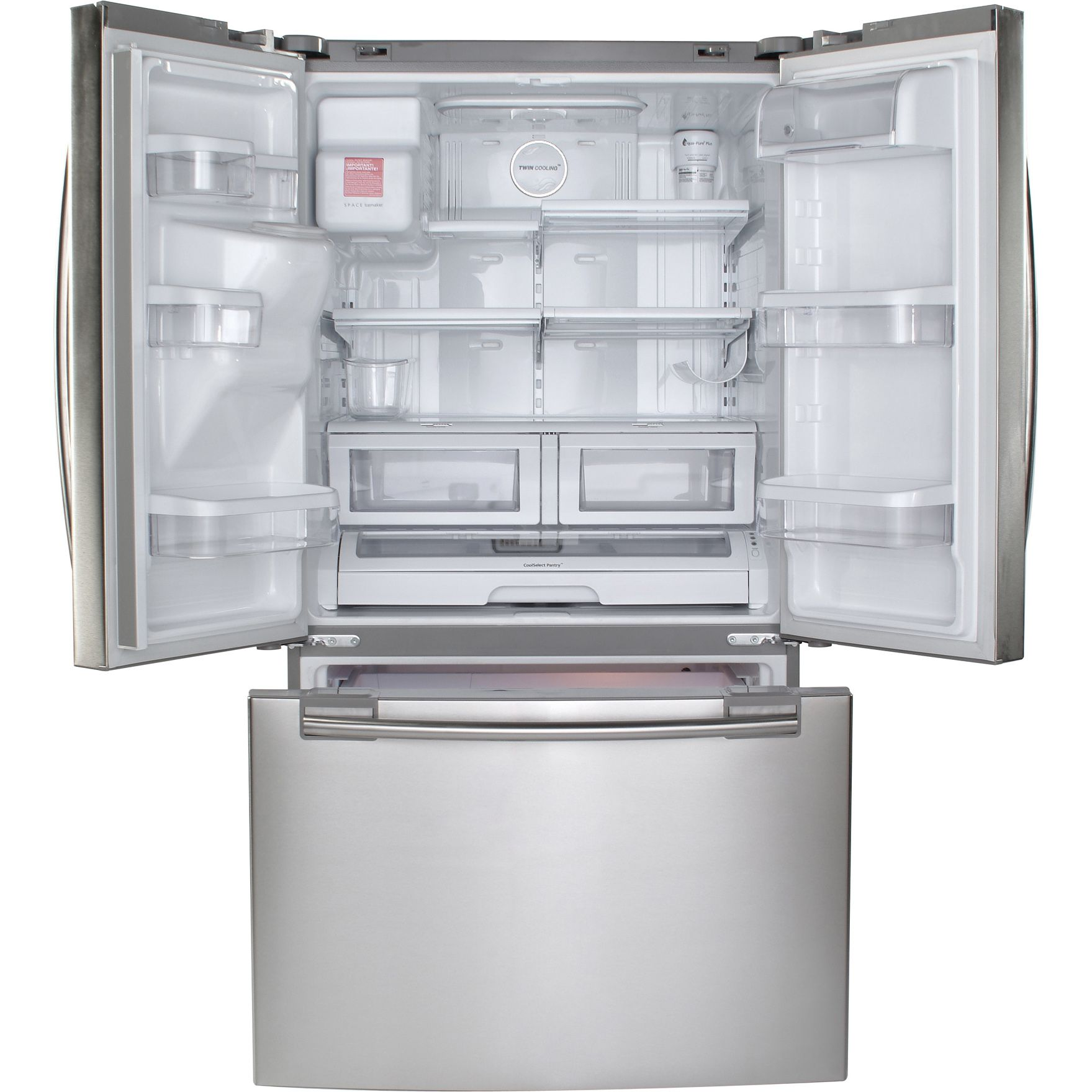 Samsung '26.0 cu. ft. French-Door Bottom Freezer Refrigerator