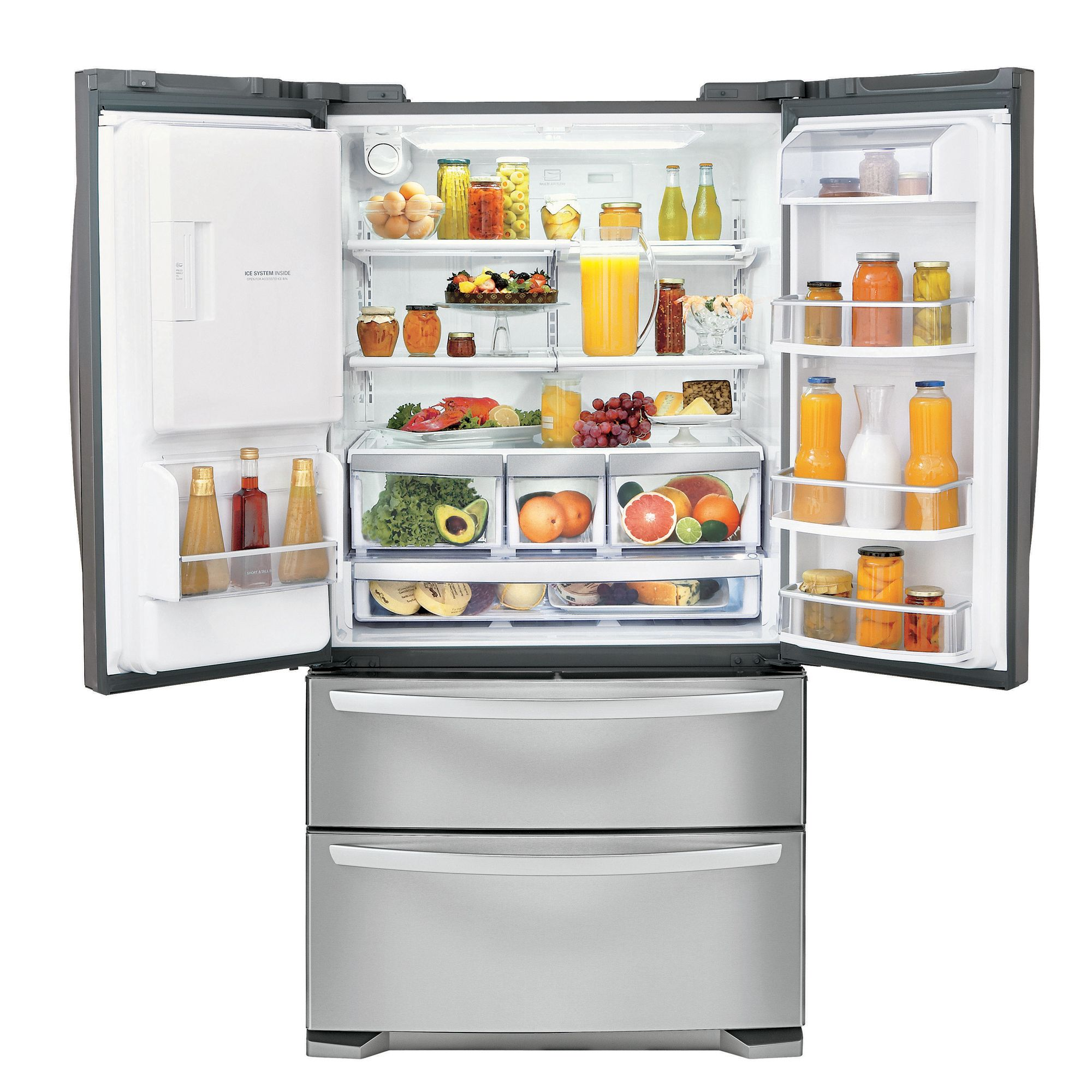 LG 27.5 cu. ft. Ultra Capacity 4-Door French-Door Refrigerator