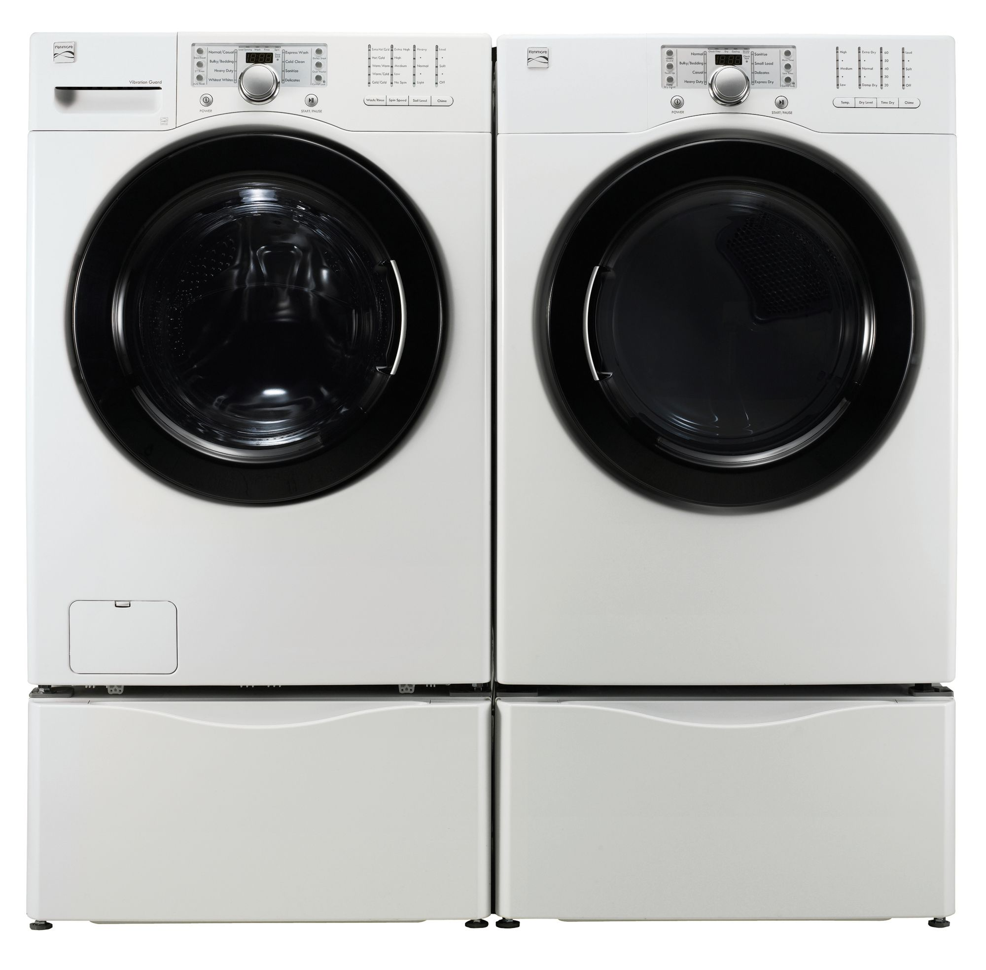 Kenmore 3.5 cu. ft. Front-Load Washer, White