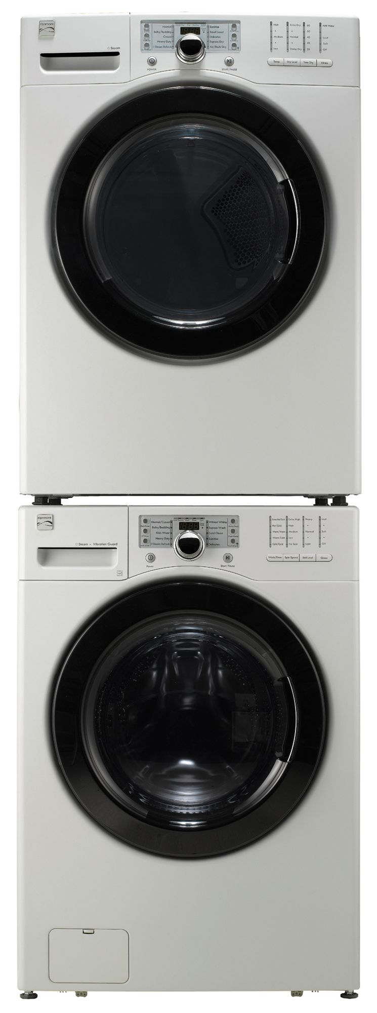 Kenmore 7.3 cu. ft. Electric Steam Dryer - White