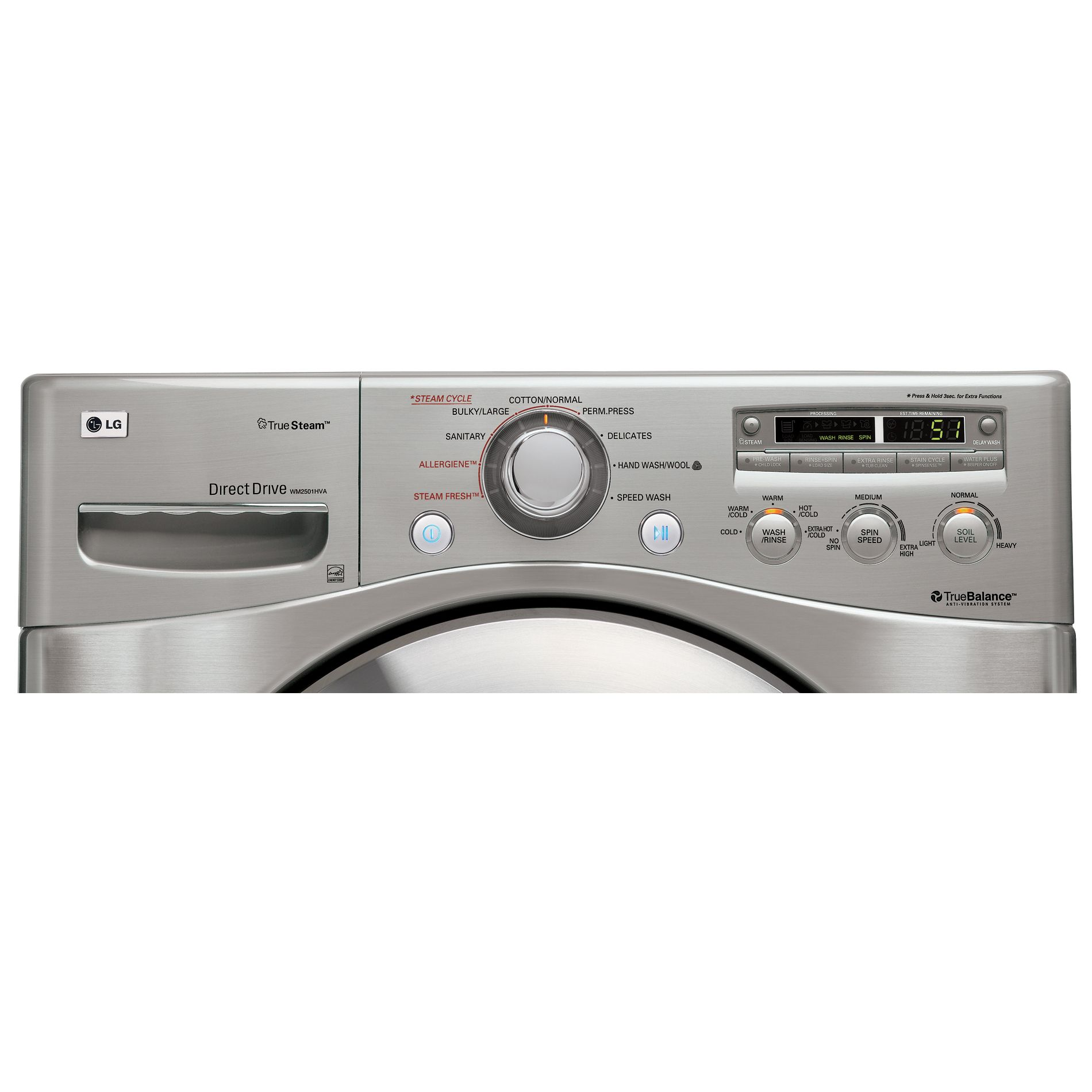 LG 3.6 cu. ft. Front-Load Washing Machine (WM2501H)