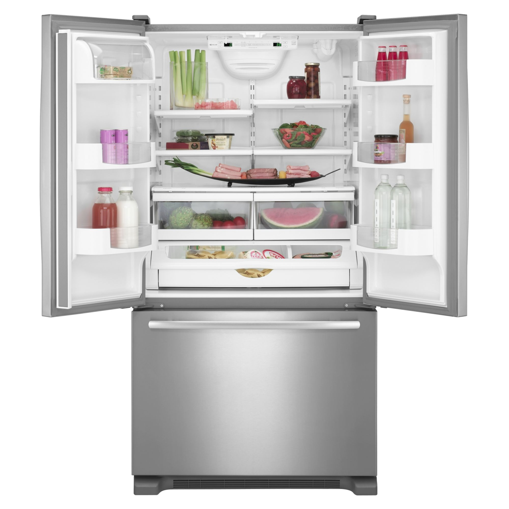 Jenn-Air 19.6 cu. ft. French-Door Bottom Freezer Refrigerator w/ Internal Dispenser