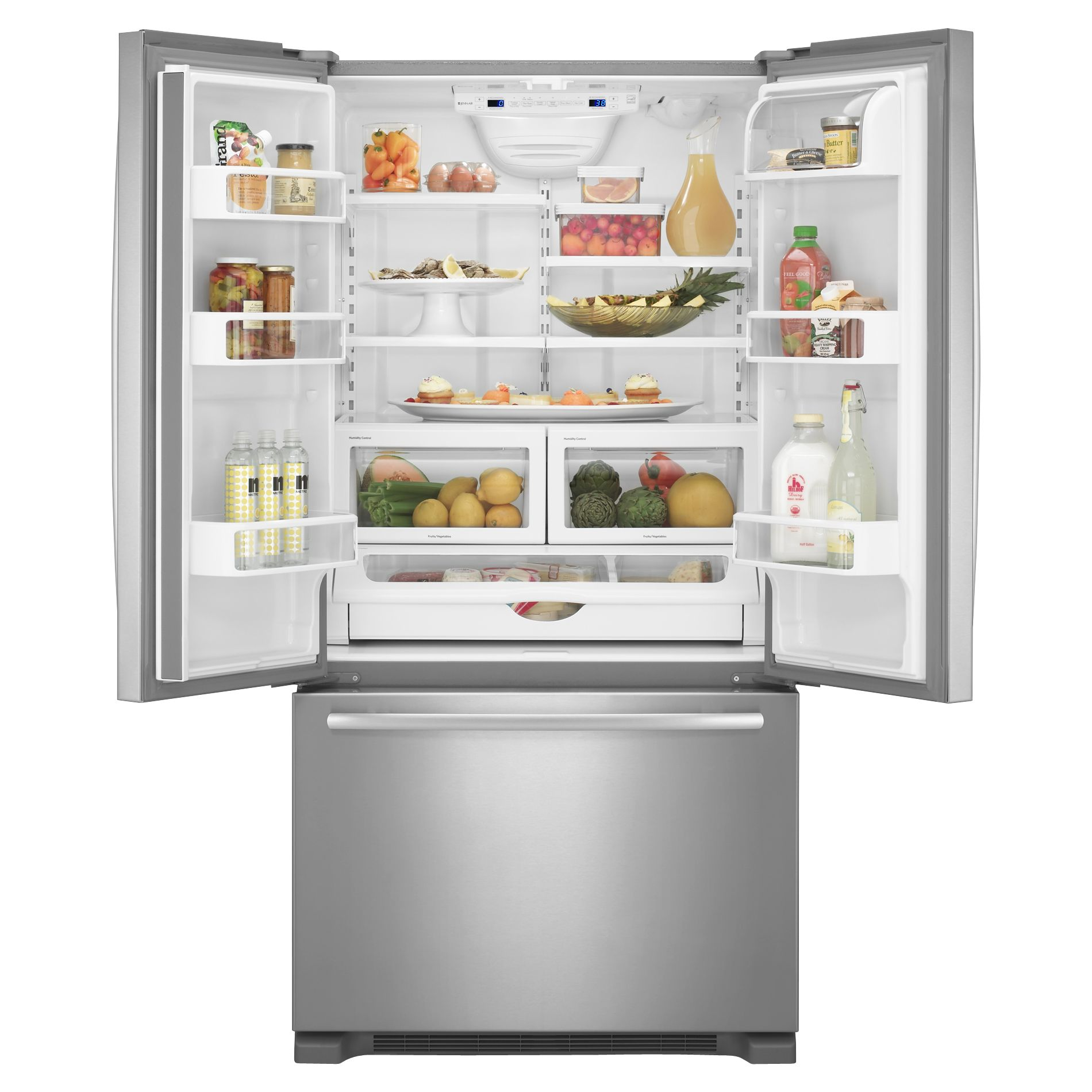 Jenn-Air 21.8 cu. ft. French-Door Bottom Freezer Refrigerator w/ Internal Dispenser