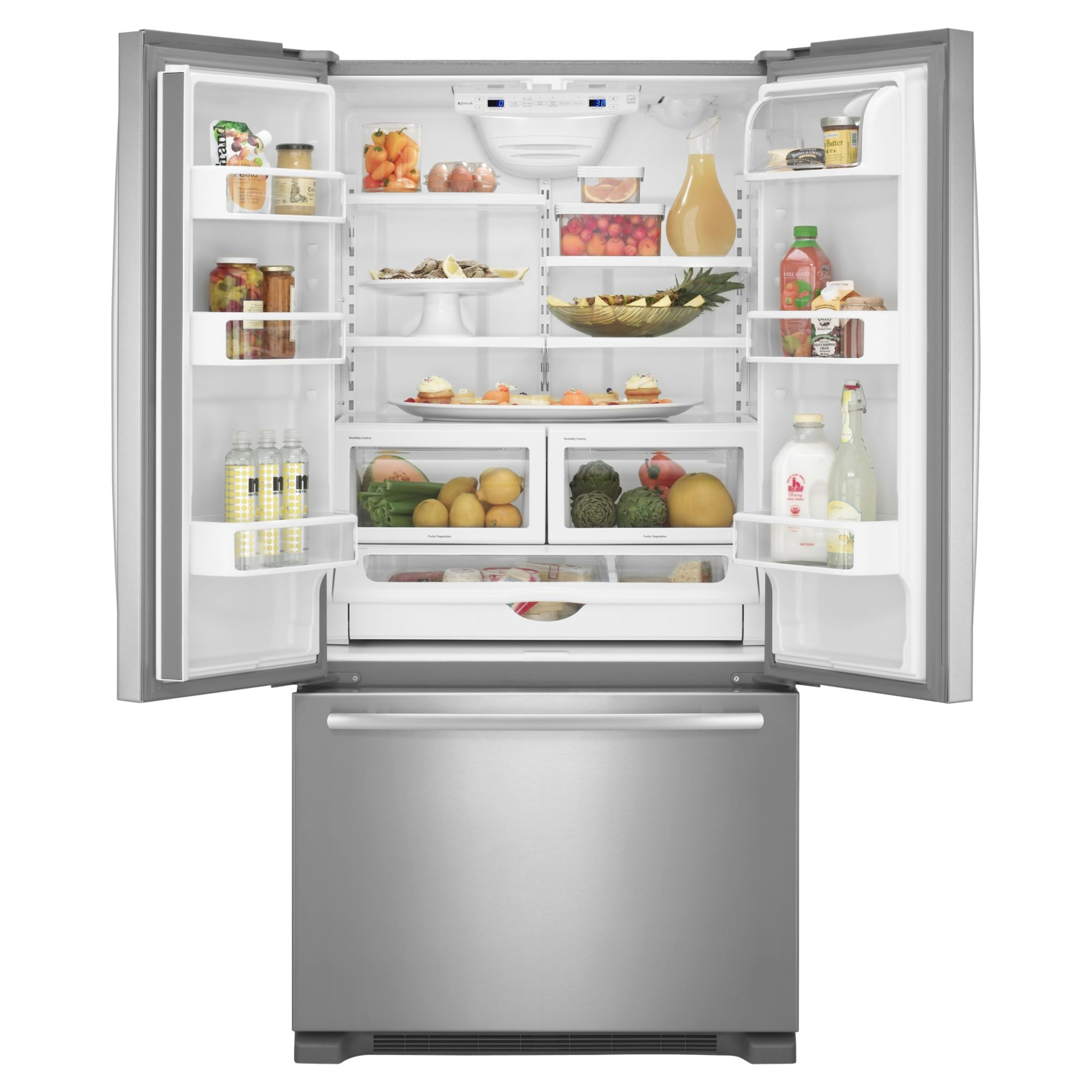 Jenn-Air 21.8 cu. ft. Built-In French-Door Bottom Freezer Refrigerator w/ Internal Dispenser