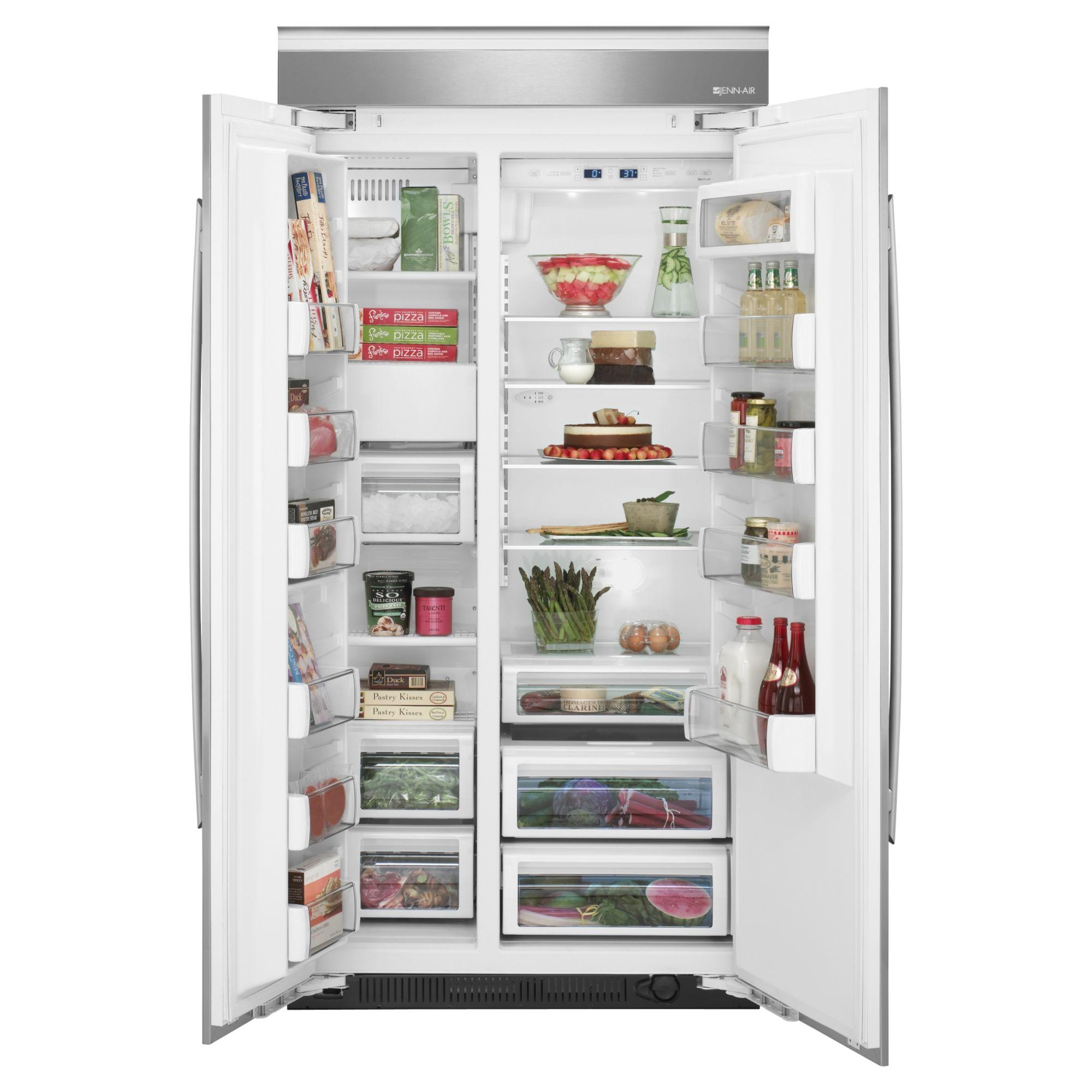 Jenn-Air 29.0 cu. ft. Built-In Side-By-Side Refrigerator