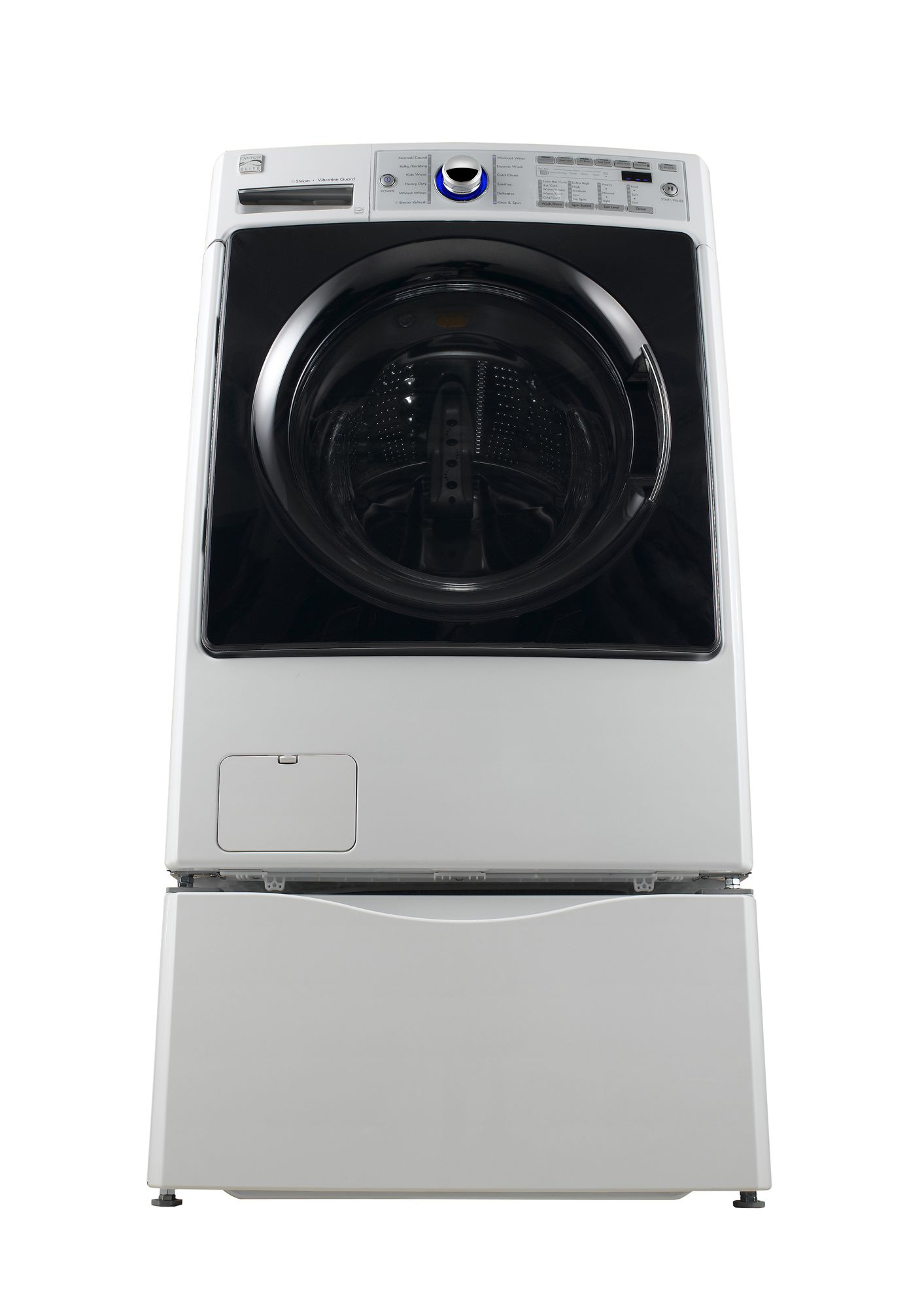 Kenmore Elite 3.9 cu. ft. Front-Load Washer, White