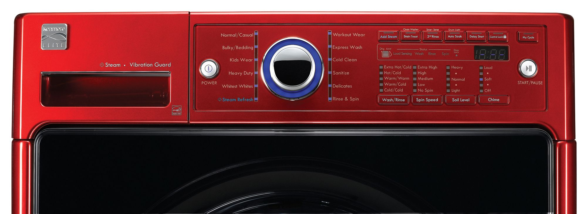 Kenmore Elite 3.9 cu. ft. Front-Load Washing Machine - Red