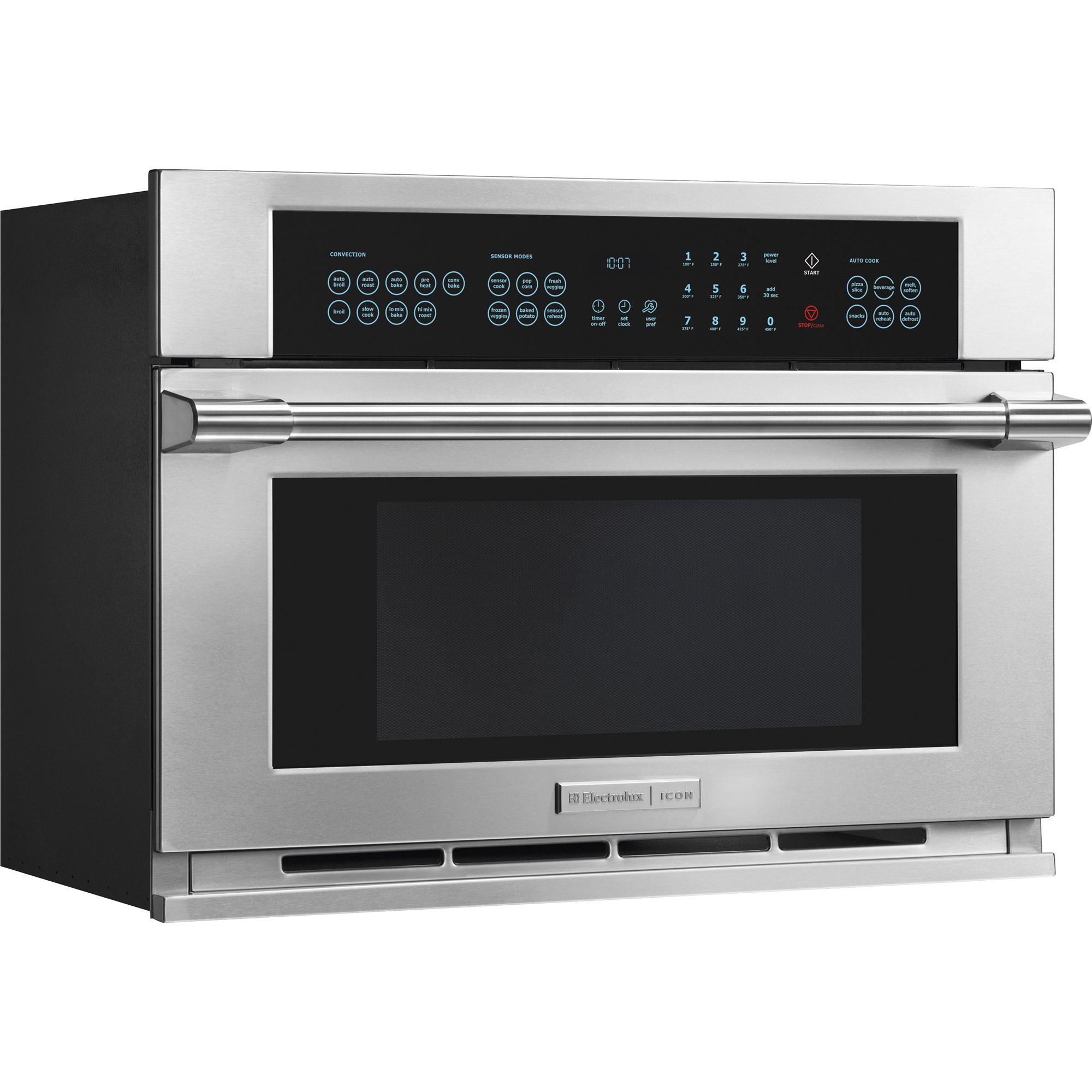 Electrolux ICON 1.5 cu. ft. Built-In Microwave Oven - Stainless Steel