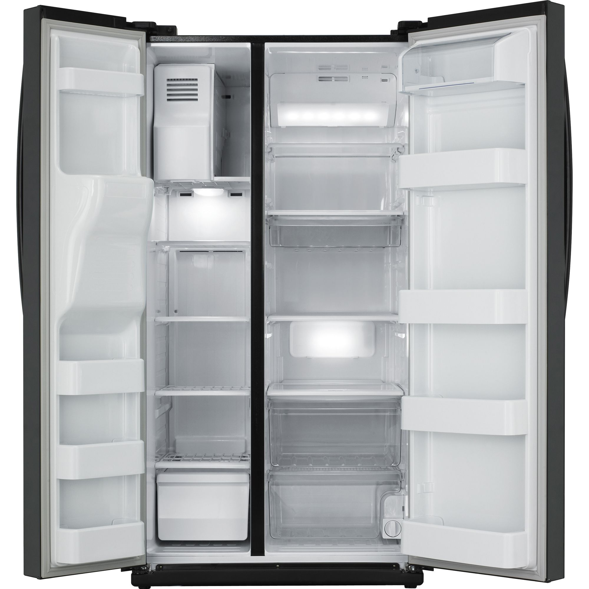 Samsung 26.0 cu. ft. Side-By-Side Refrigerator  Black