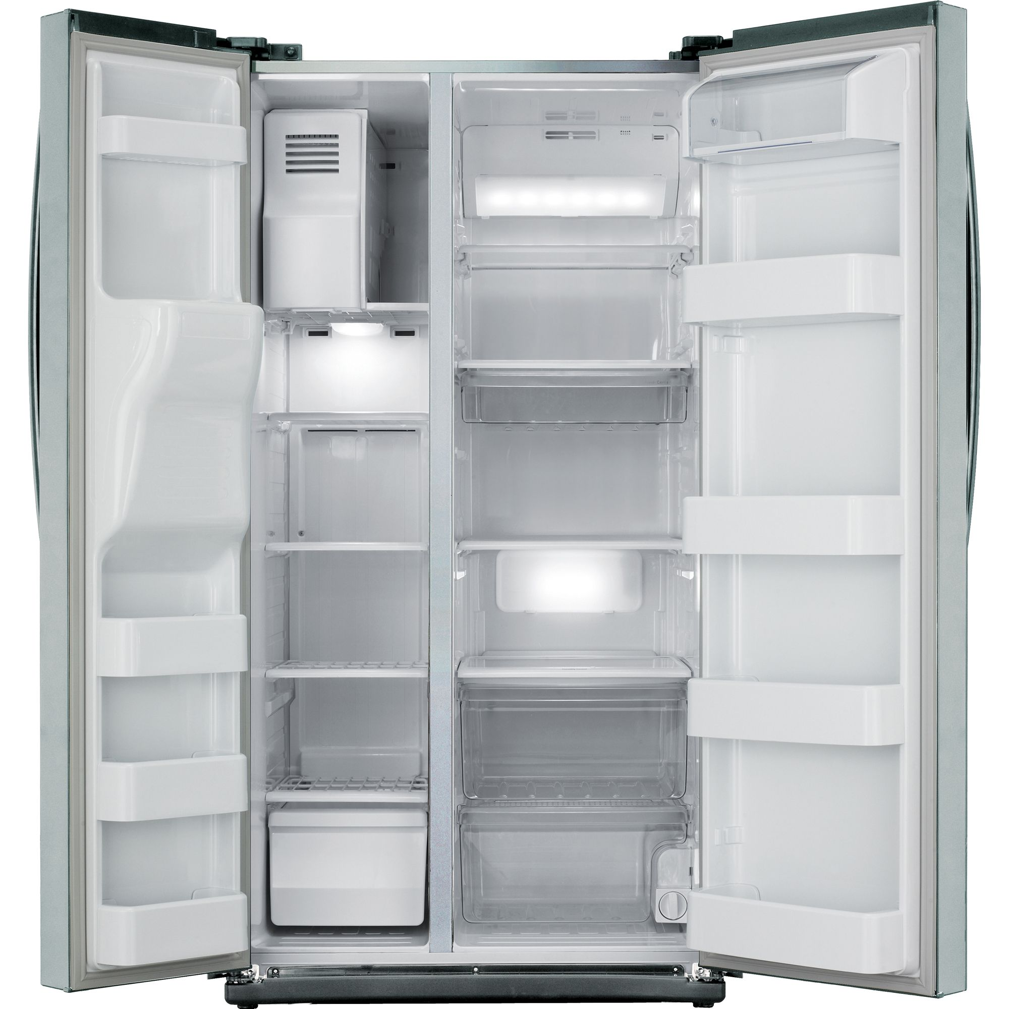Samsung 26.0 cu. ft. Side-by-Side  Refrigerator Stainless Look