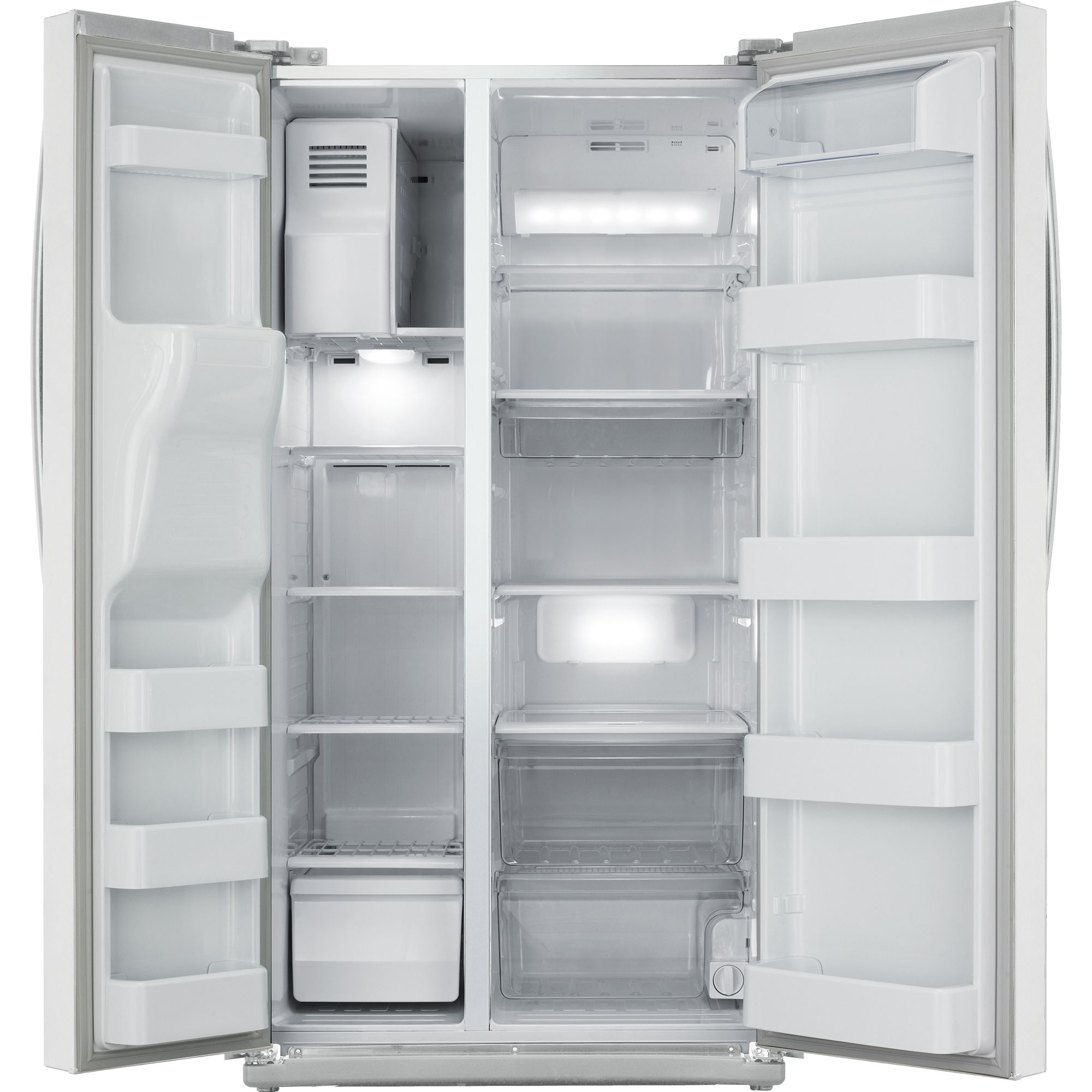 Samsung 26.0 cu. ft. Side-By-Side Refrigerator - White
